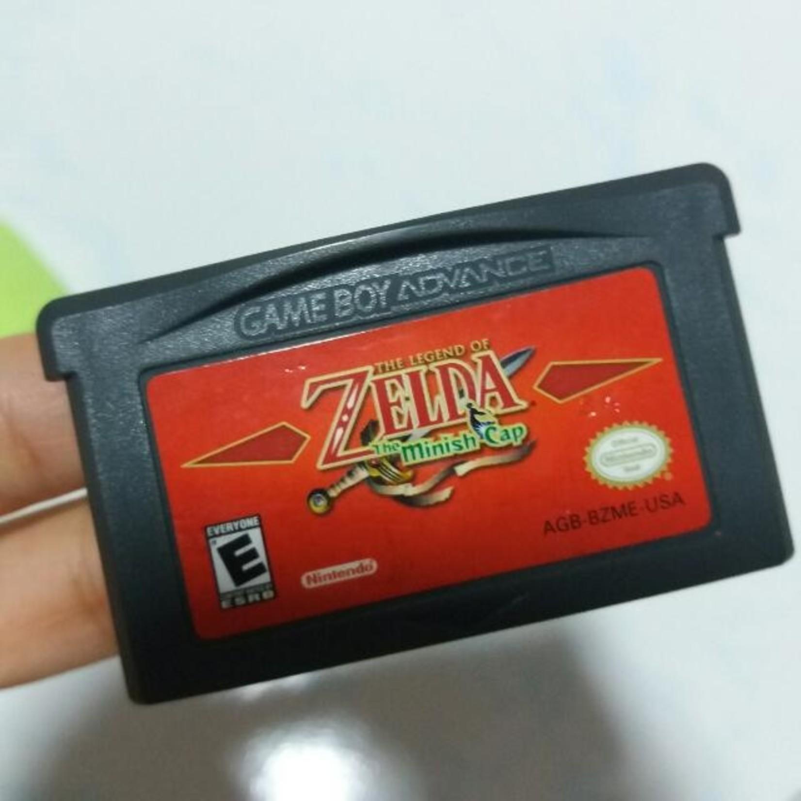 GBAU-Zelda Minish Cap (cart only)