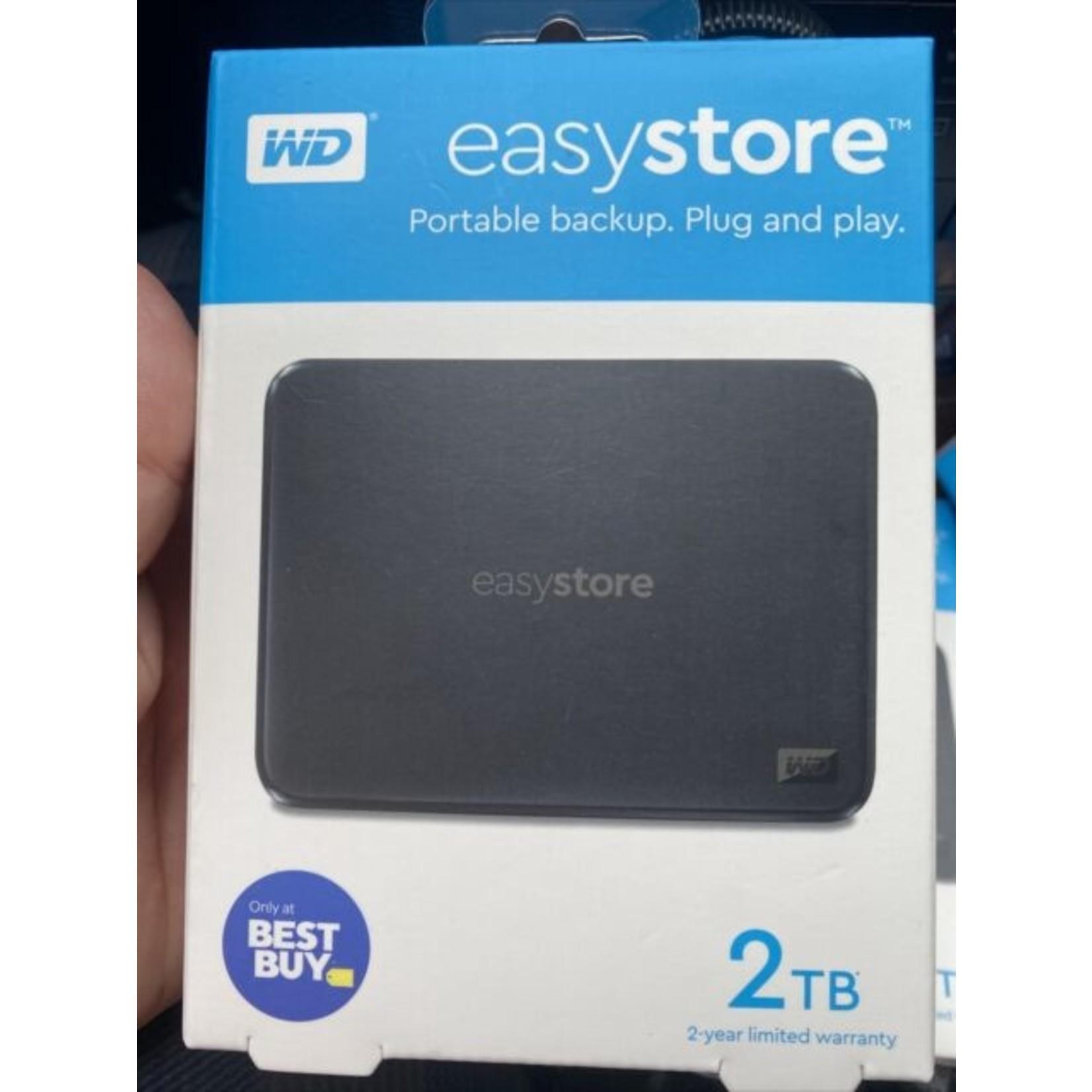 WD 2TB ELEMENTS PORTABLE EXTERNAL HD USB 3.0