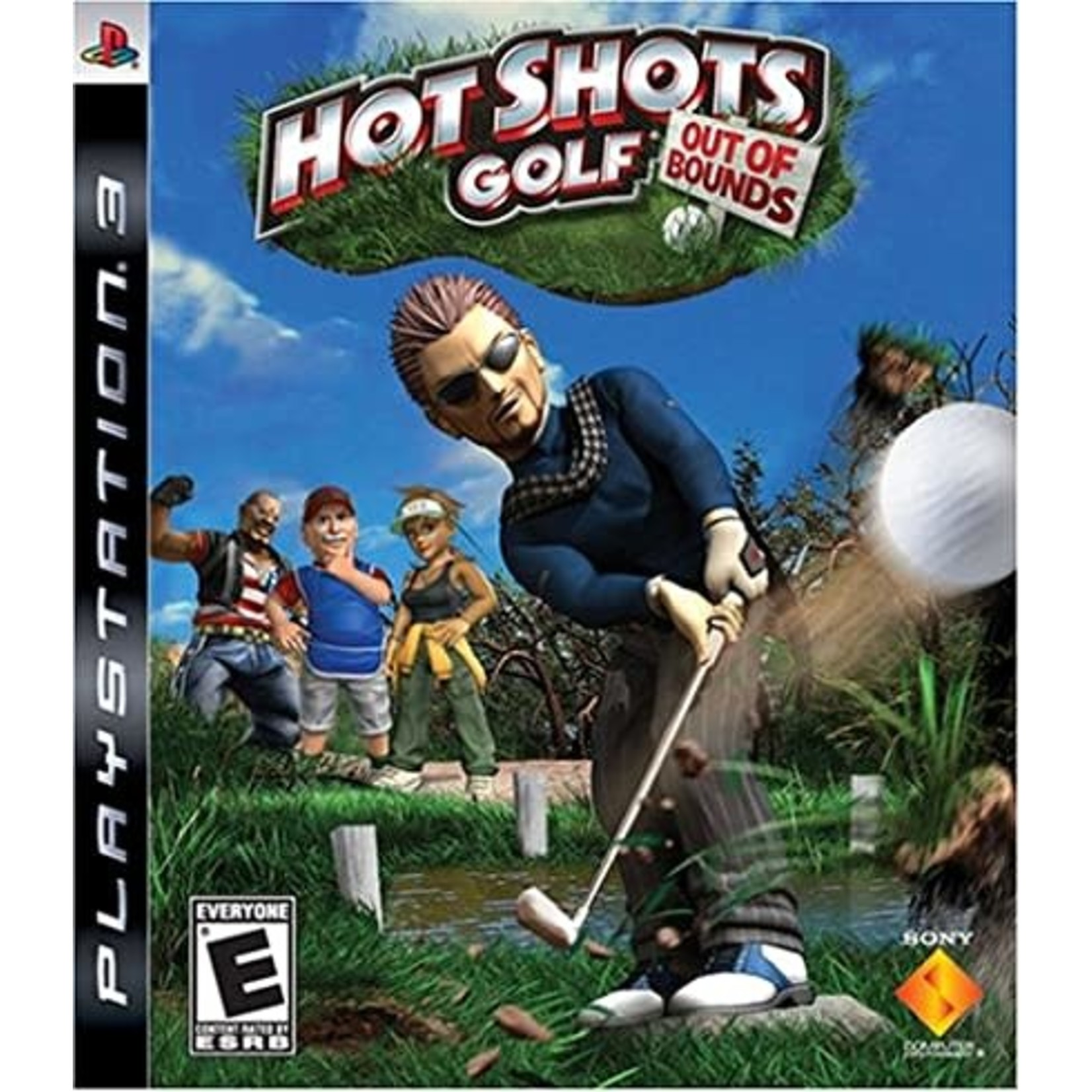 PS3U-HOT SHOTS GOLF: OUT OF BOUNDS