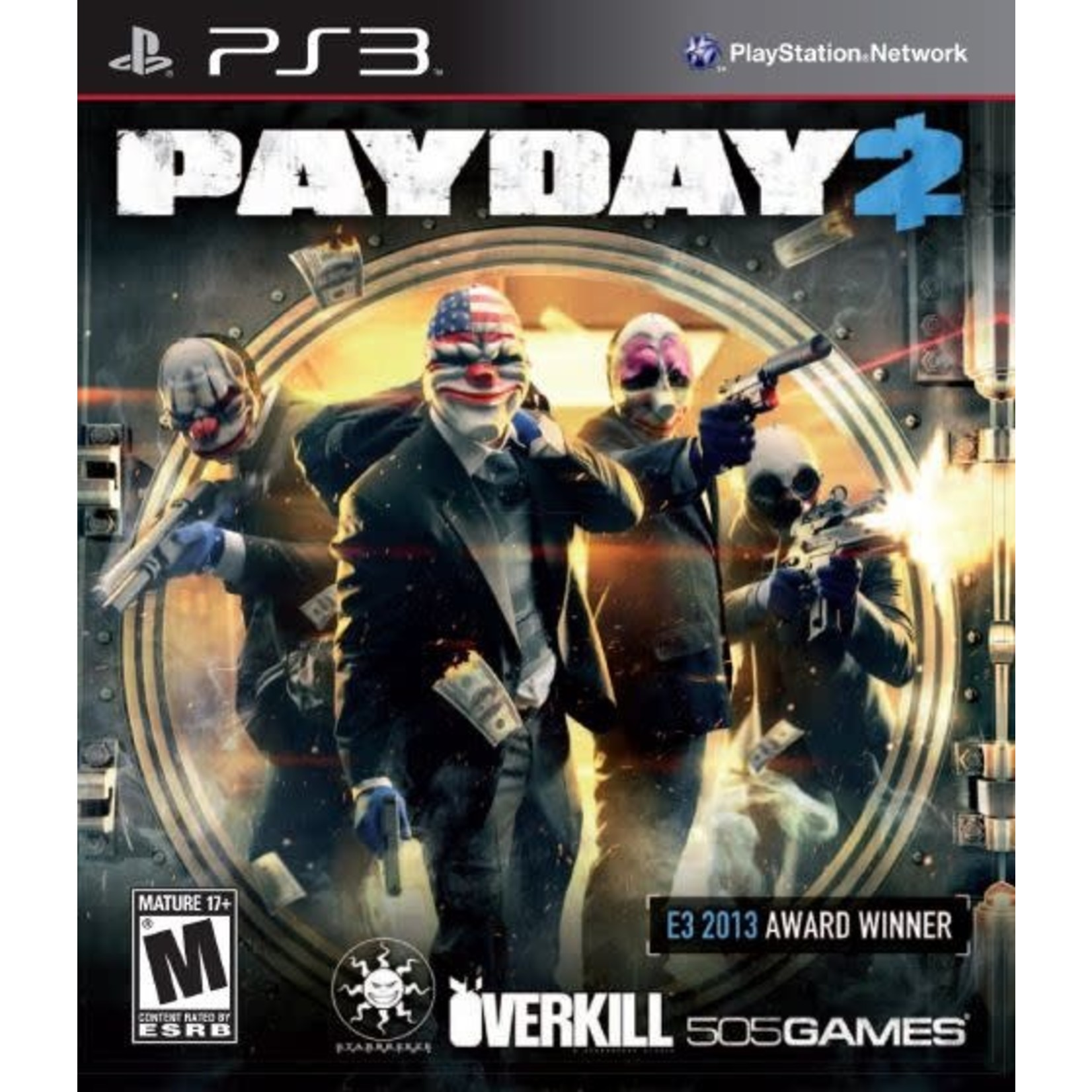 PS3U-PAYDAY 2