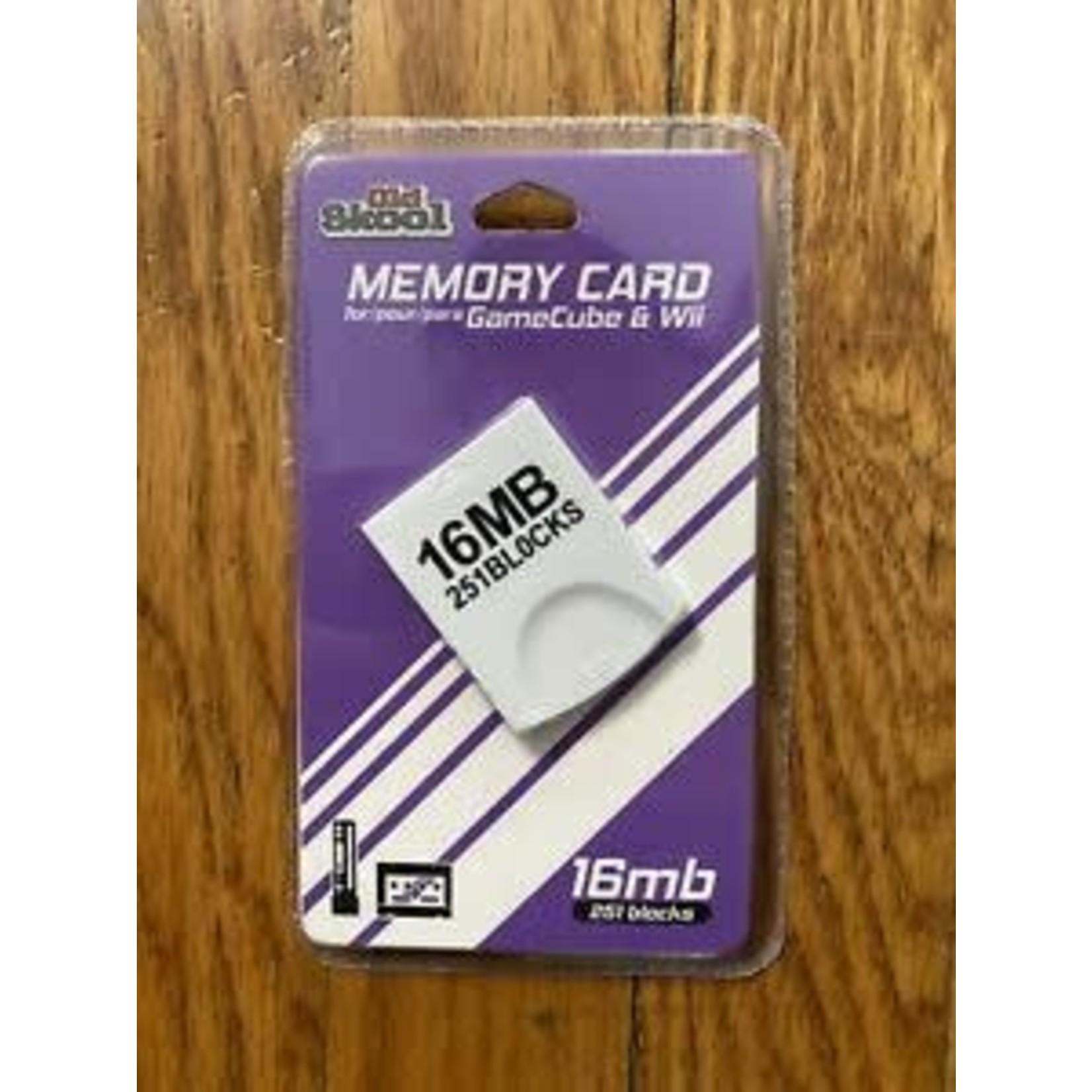 OLD SKOOL 16 MB GAMECUBE MEMORY CARD
