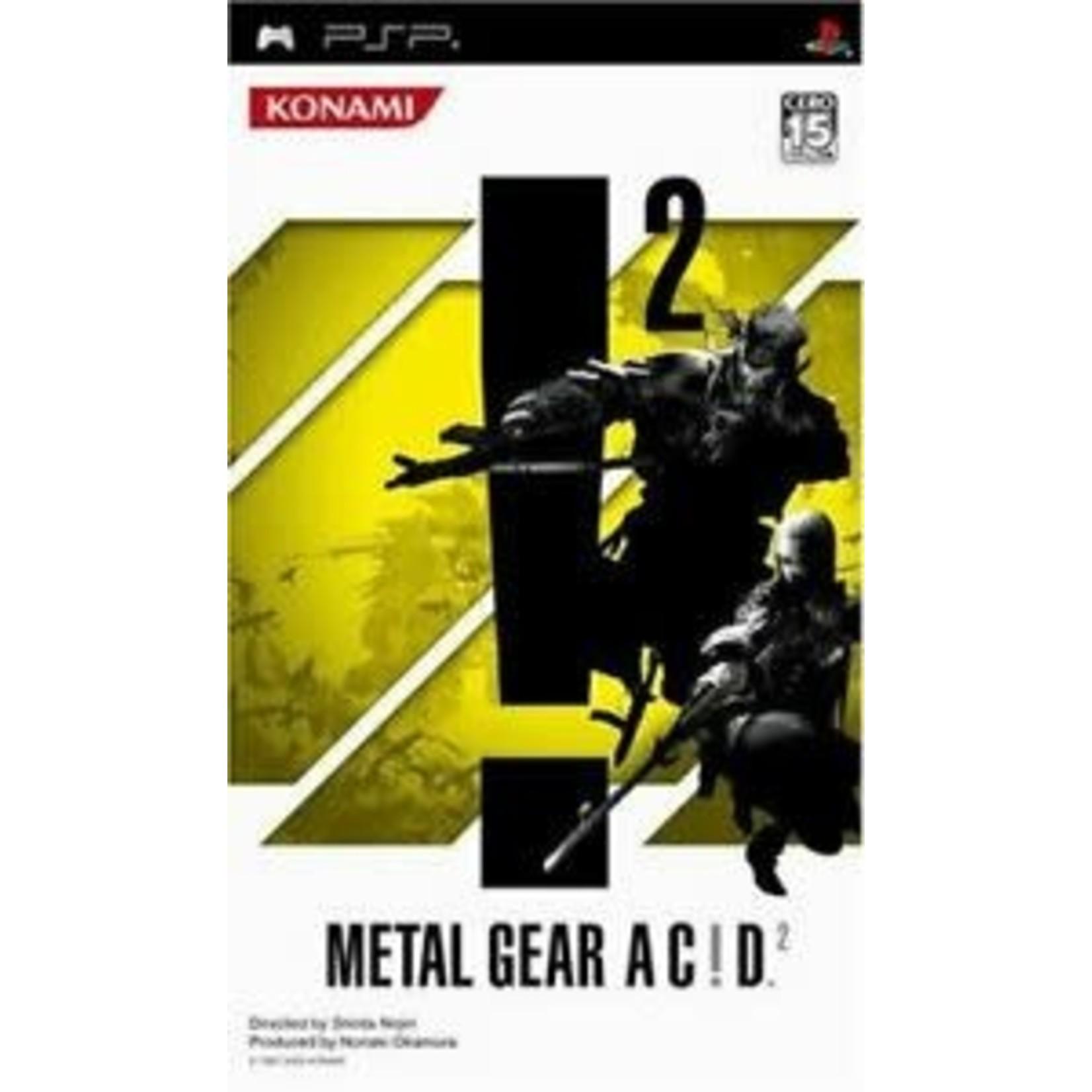 IMPORT-PSPU-METAL GEAR AC!D 2