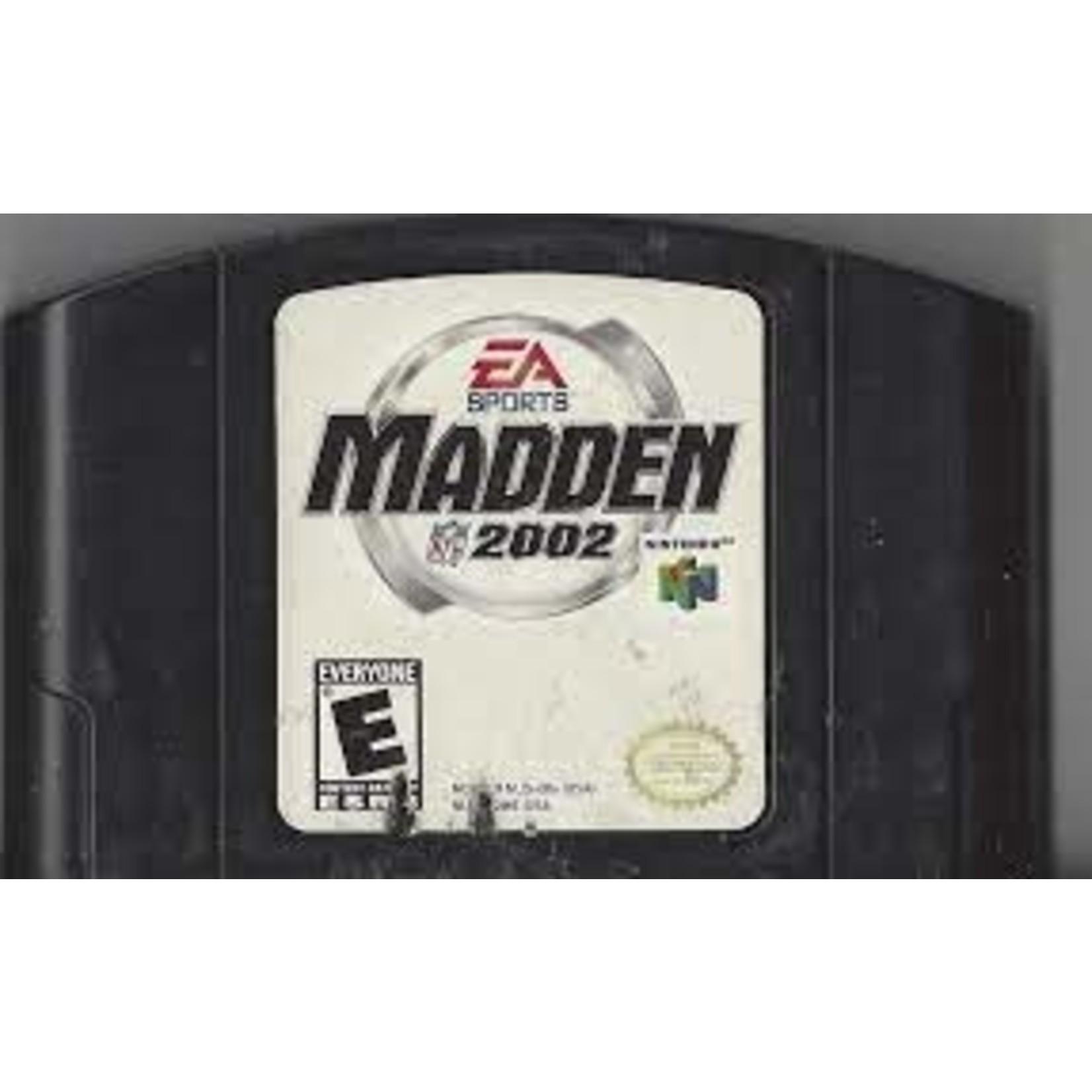 N64U-MADDEN 2002 (CARTRIDGE)