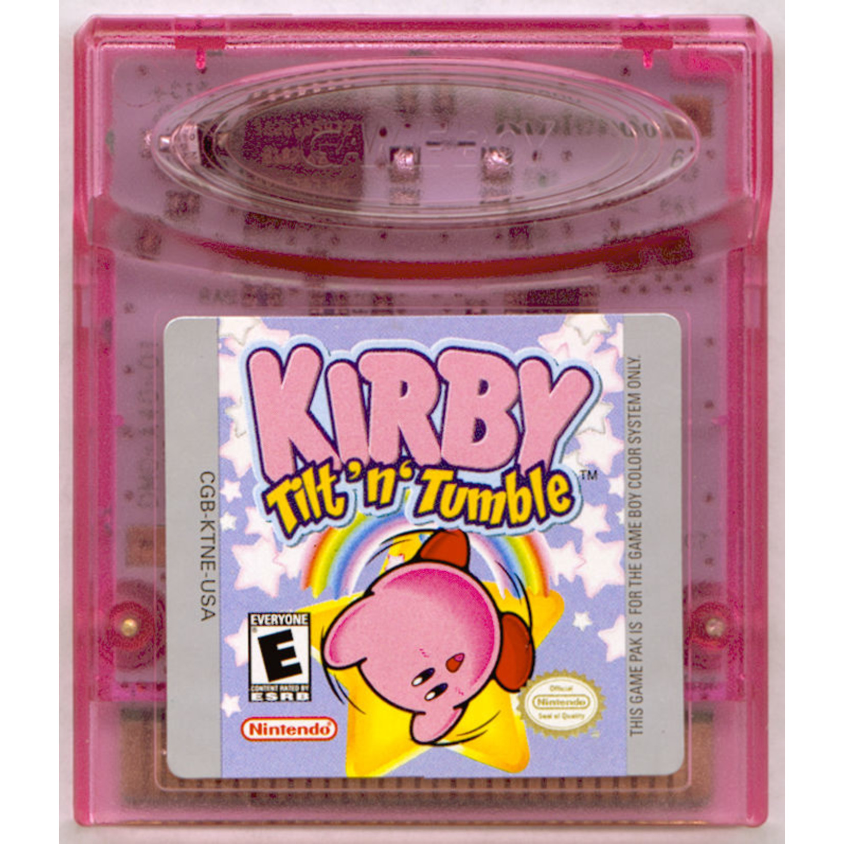 GBCU-KIRBY TILT N TUMBLE (CART ONLY)