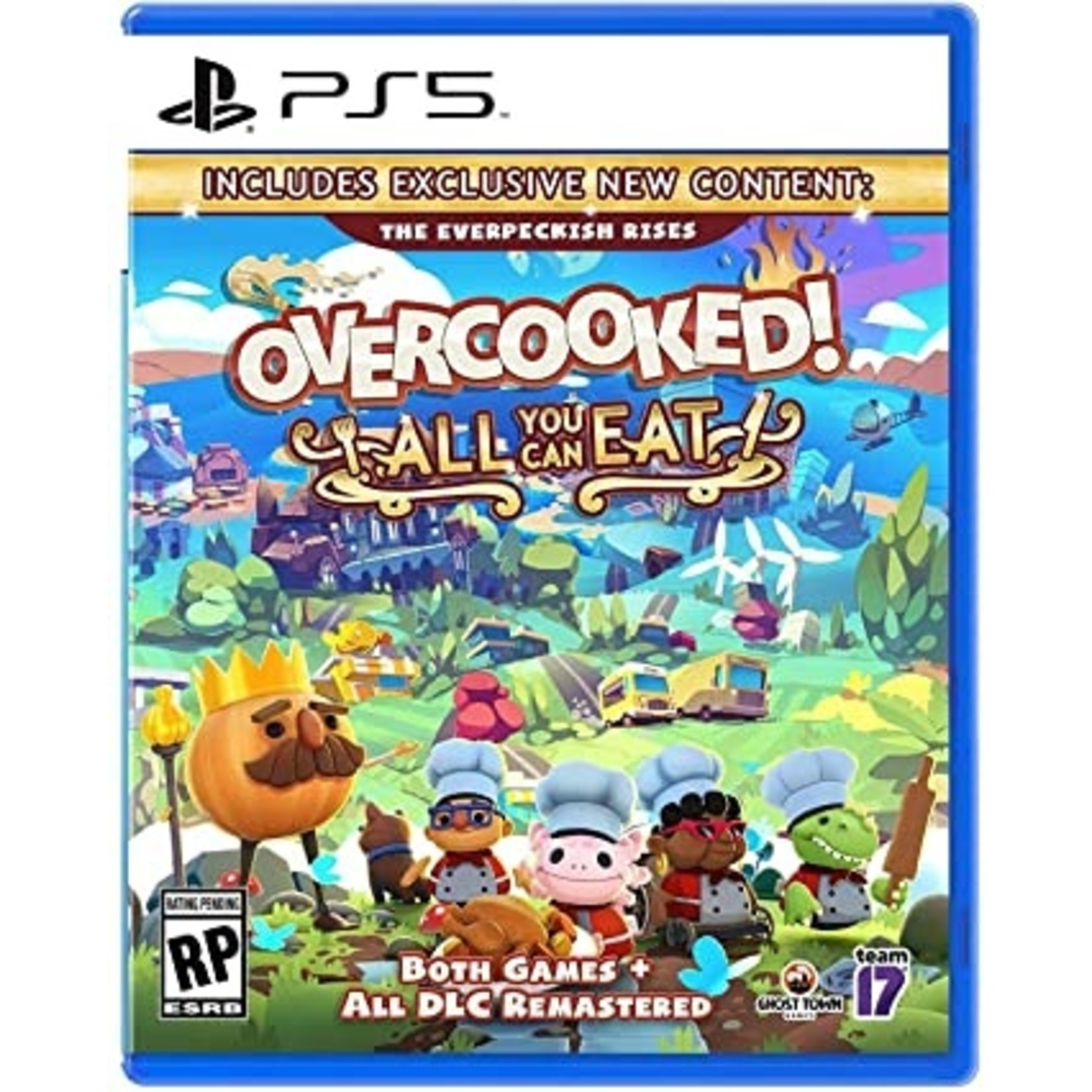 PS5-OVERCOOKED ALL YOU CAN EAT