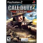 PS2U-CALL OF DUTY 2 BIG RED ONE