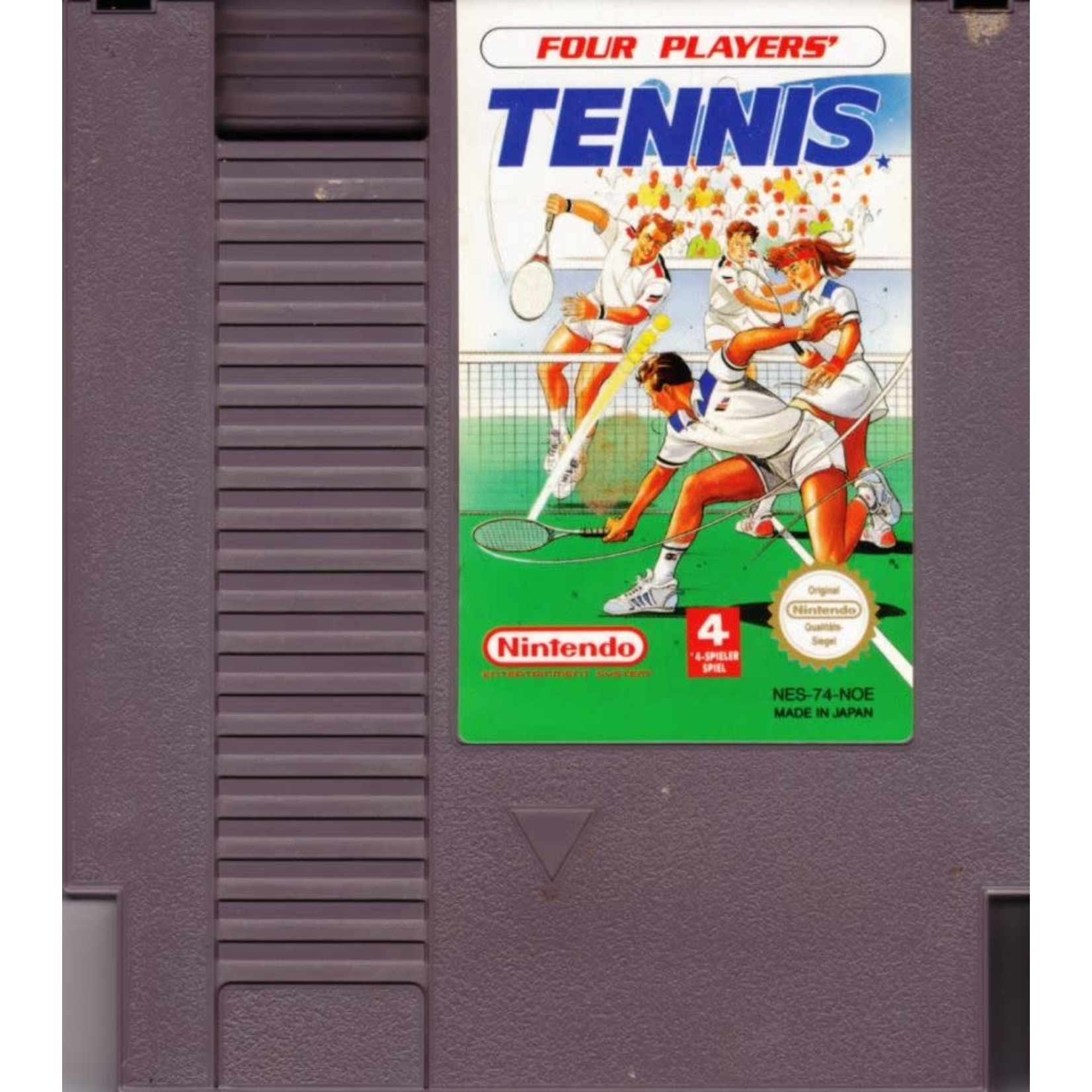 NESU-TOP PLAYERS TENNIS (CARTRIDGE)