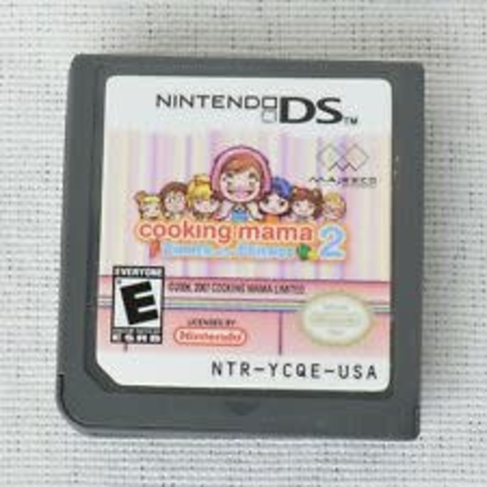 DSU-Cooking Mama 2 (chip only)