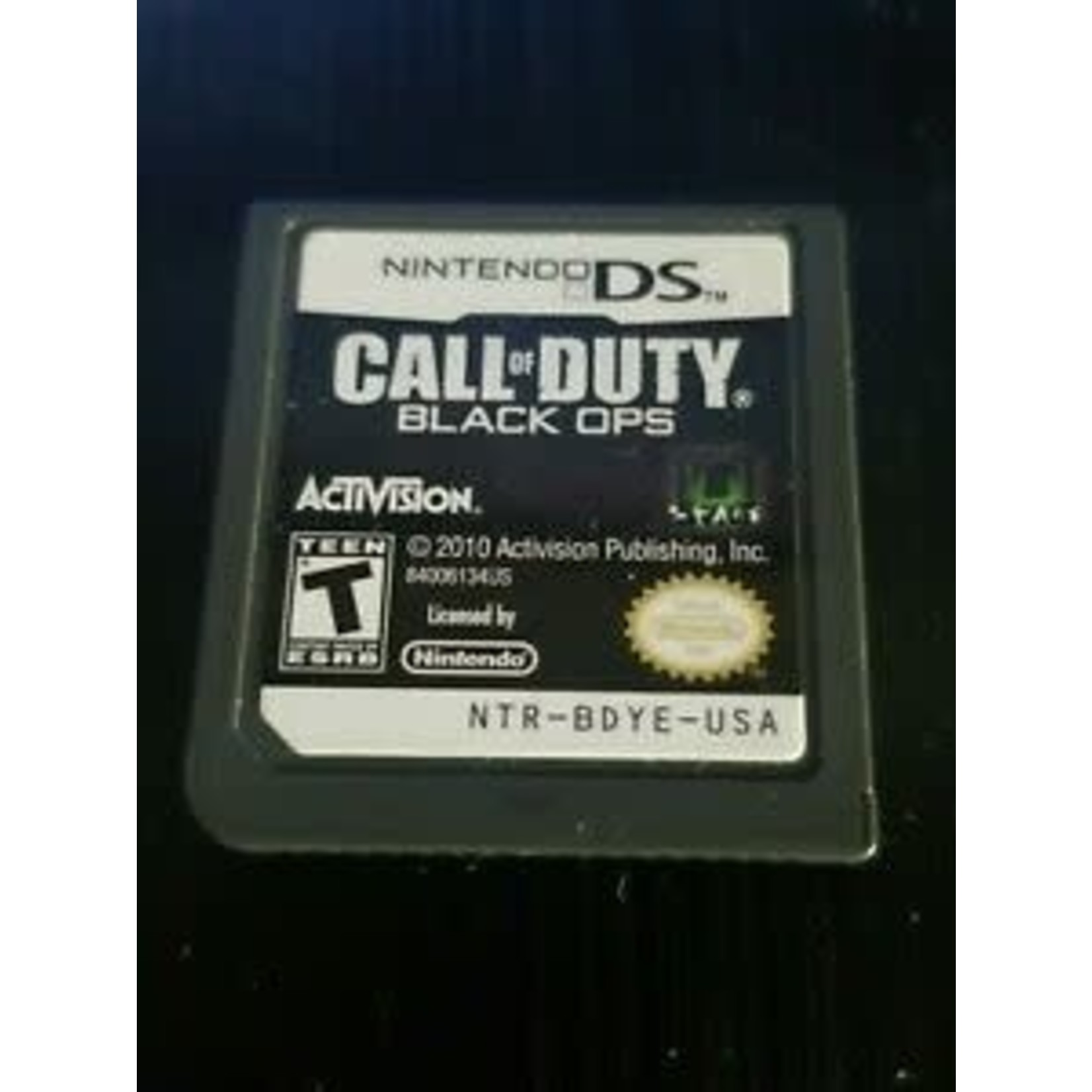 DSU-Call of Dut Black Ops (cartridge)
