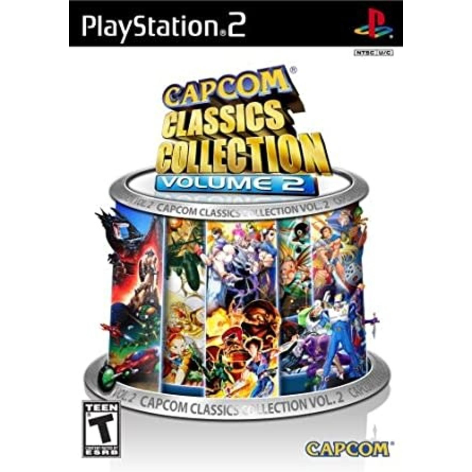 PS2U-Capcom Classics COllection Vol 2