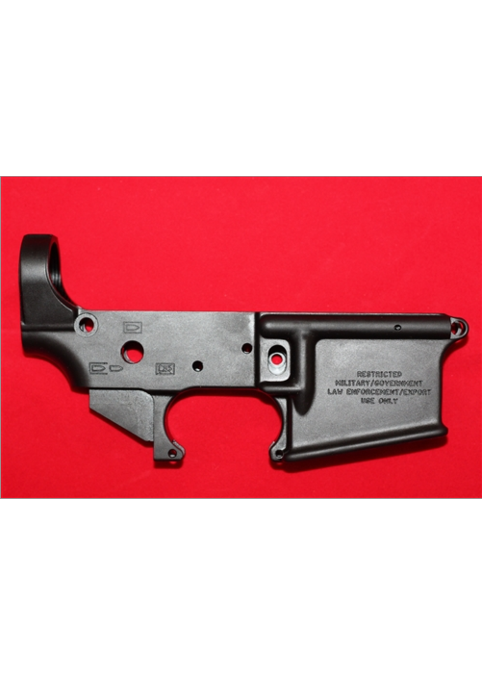 Disruptive Tactical DT15 STRIPPED LOWER RECEIVER