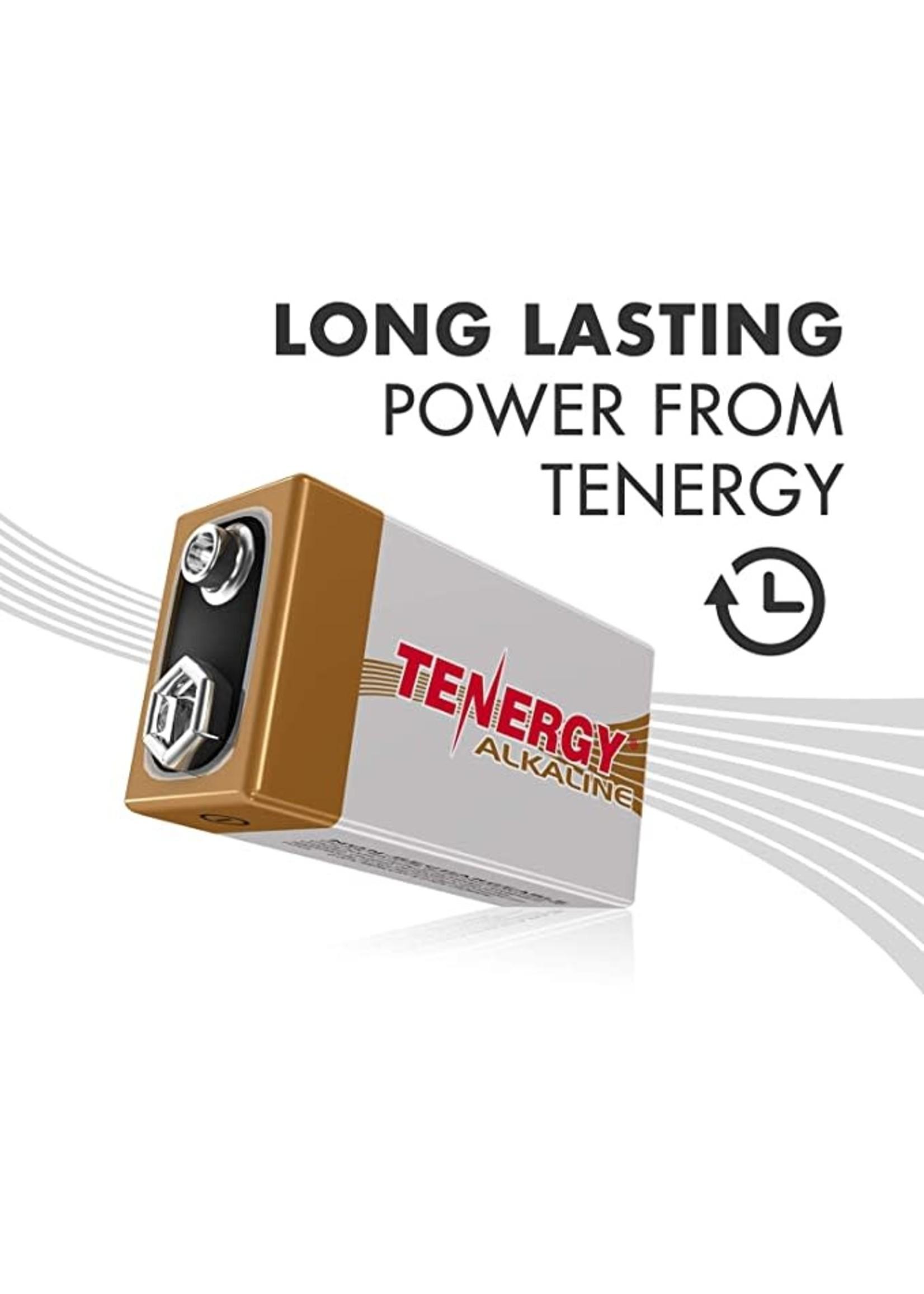 TENERGY 9V BATTERY TENERGY