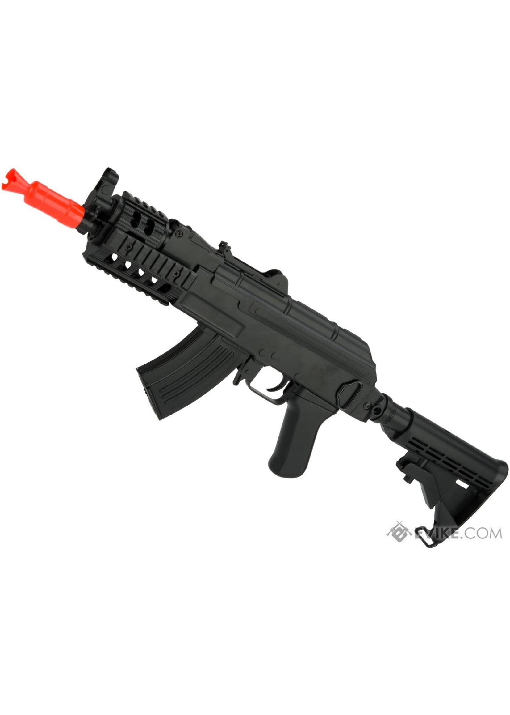 CYMA CYMA Sport Full Size AK Beta Spetsnaz Airsoft AEG Rifle w/ RIS & LE Stock
