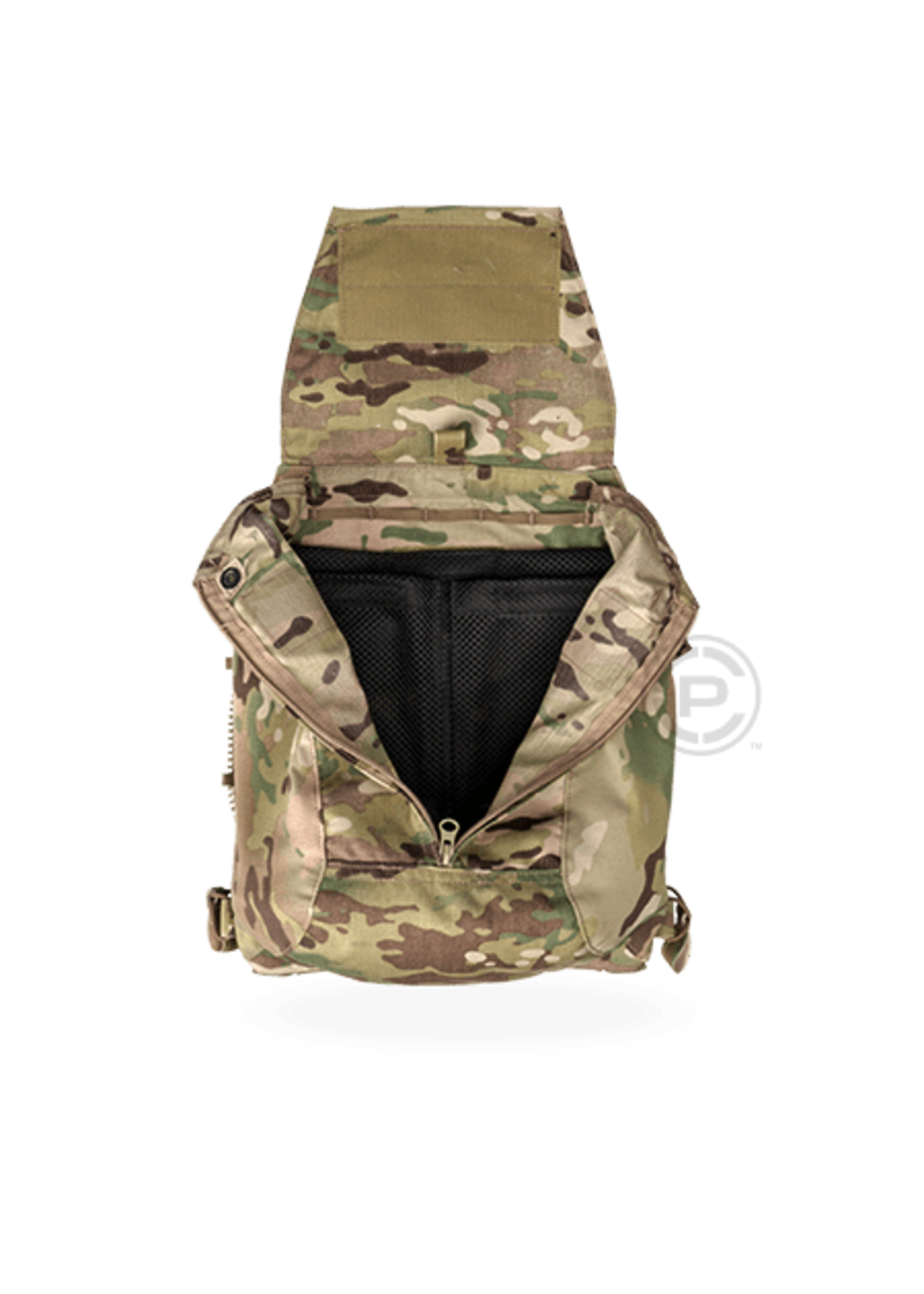 CRYE PRECISION CRYE PACK ZIP ON PANEL 2.0  BLACK S/M