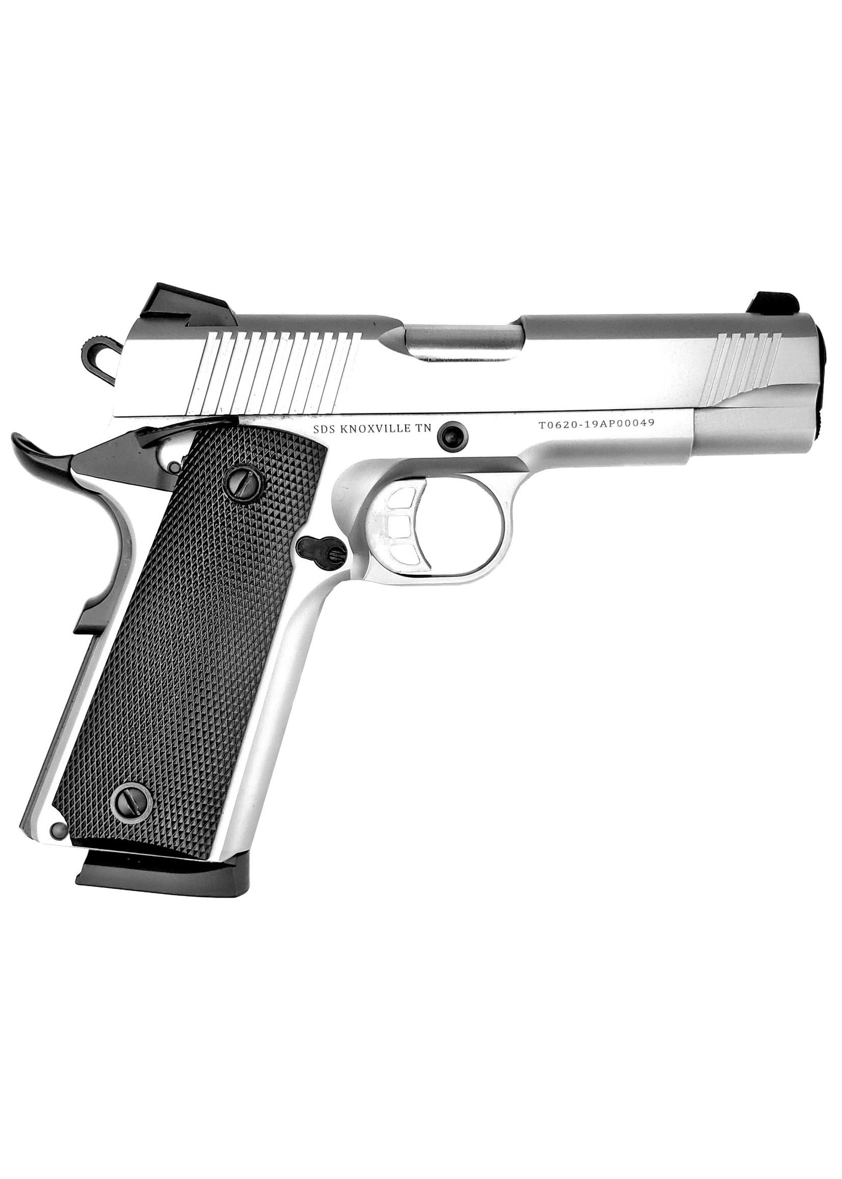 """SDS SDS 1911 SS45 45ACP 4.25"""" 8RD STAINLESS"""
