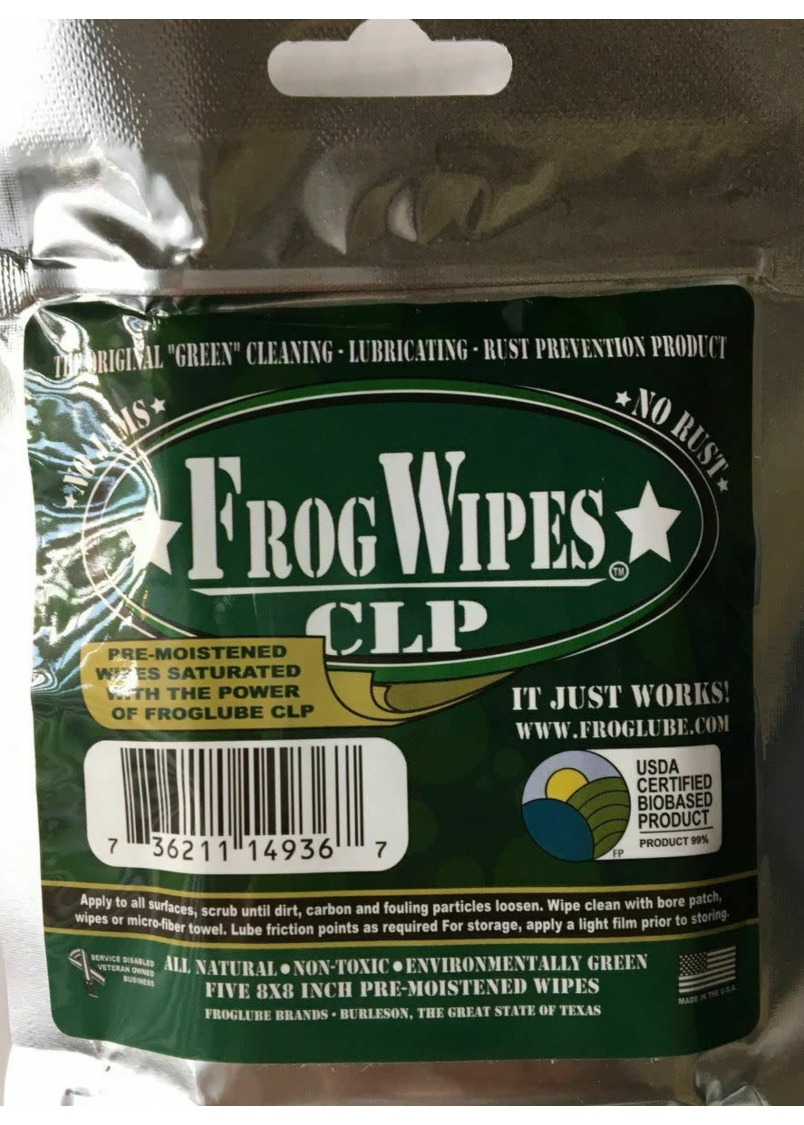 FROG LUBE WIPES