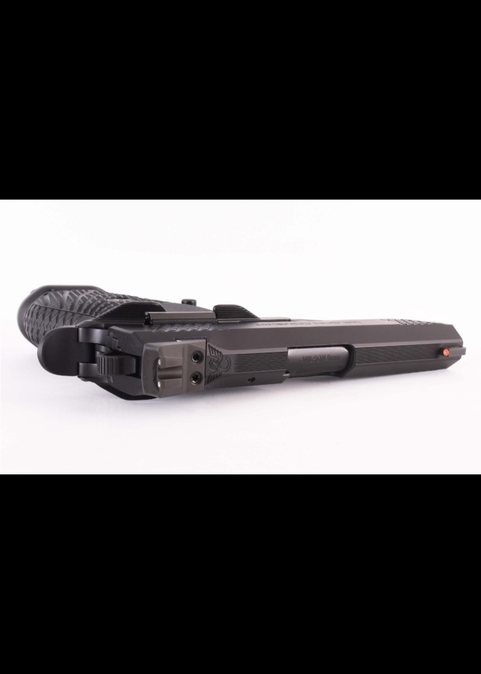 WILSON COMBAT EDC X9 DT Black Edition 9mm Lightrail, Magwell, NS, Ambi