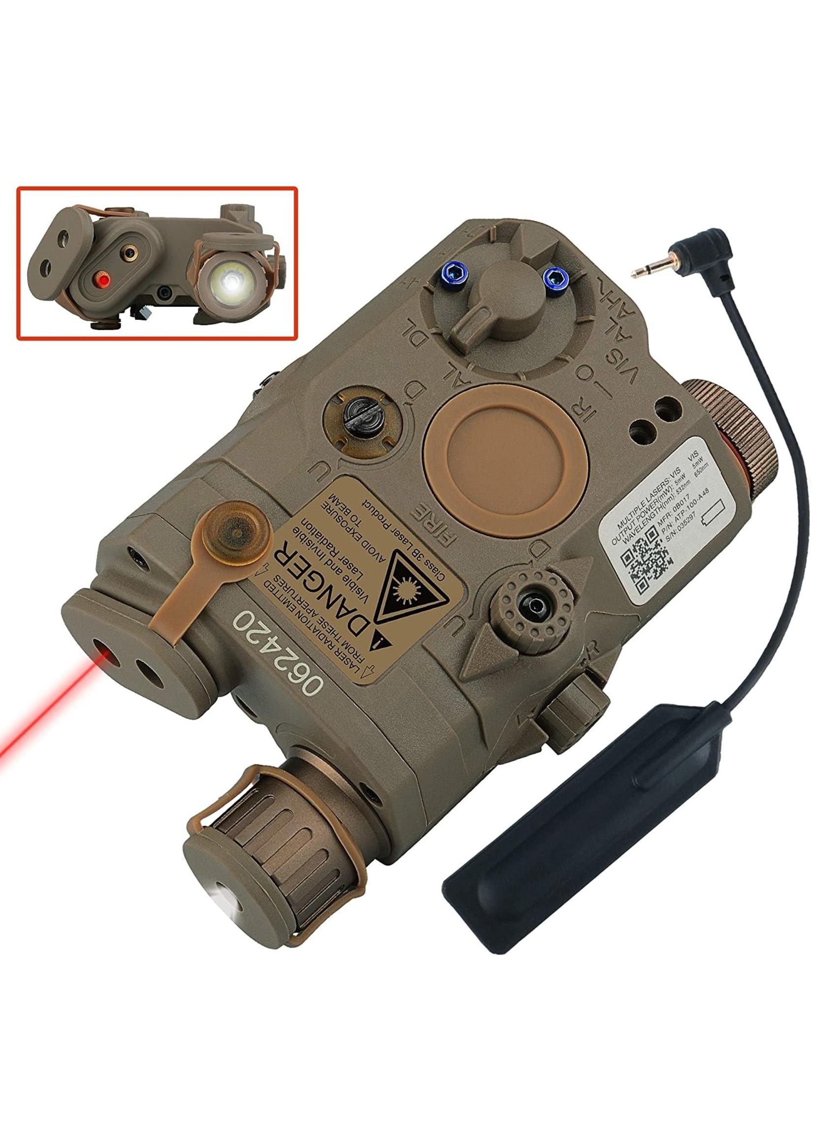 WOSPORT WOSPORT PEQ-15 LIGHT, RED LASER, IR