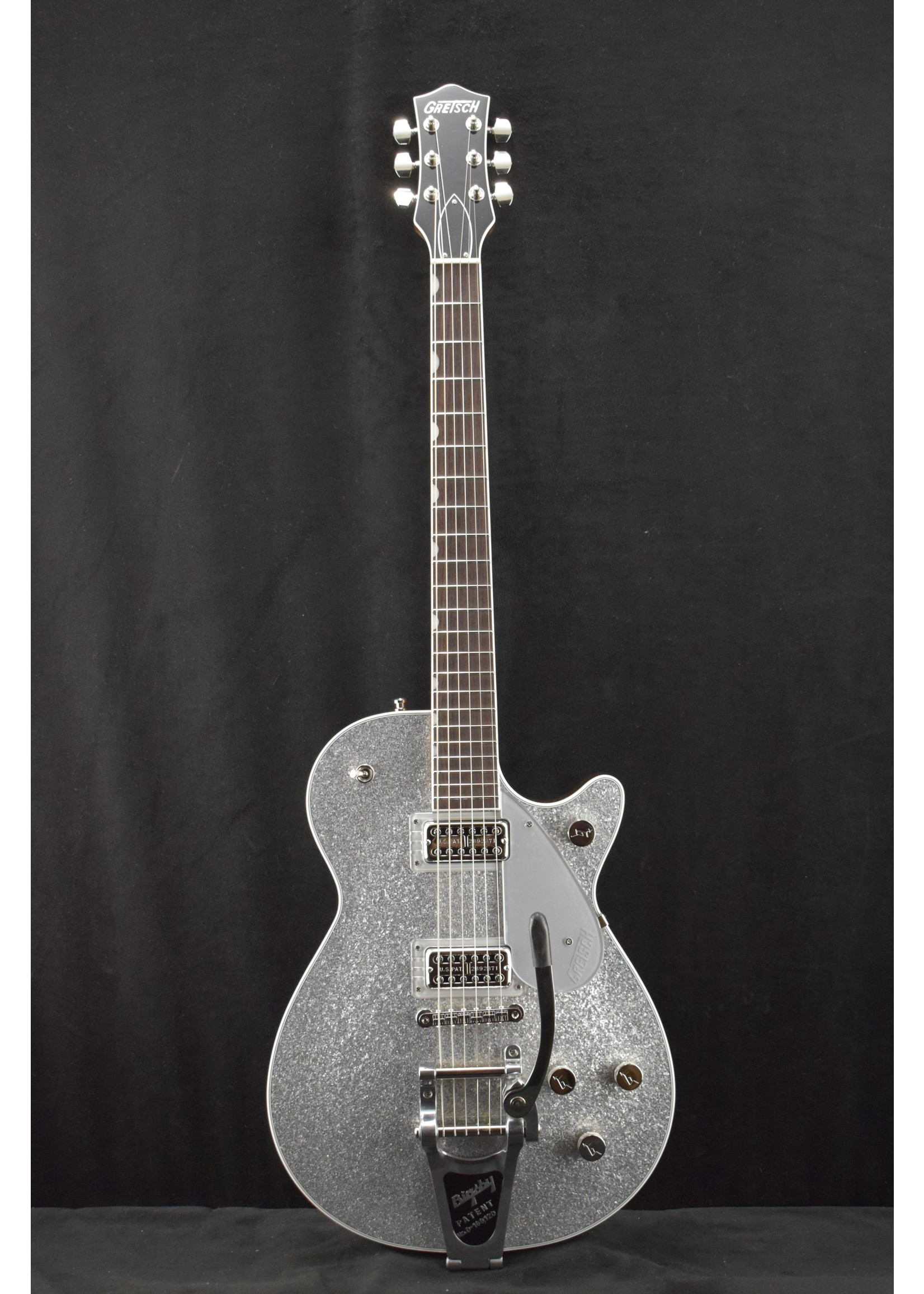 Gretsch Gretsch G6129T Players Edition Jet FT with Bigsby Silver Sparkle