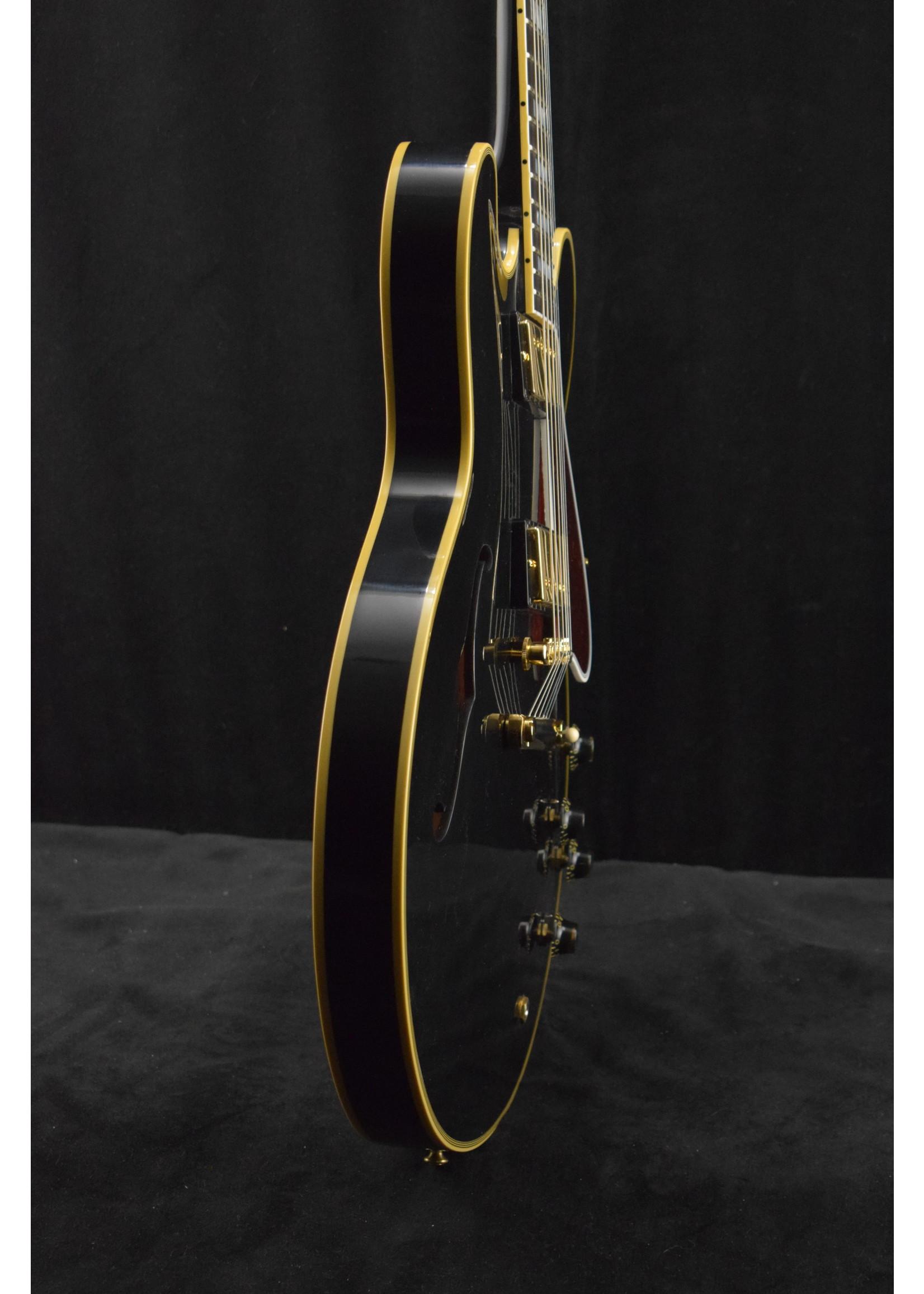 Gibson Gibson 1959 ES-355 Stop Bar Reissue Ebony VOS GH