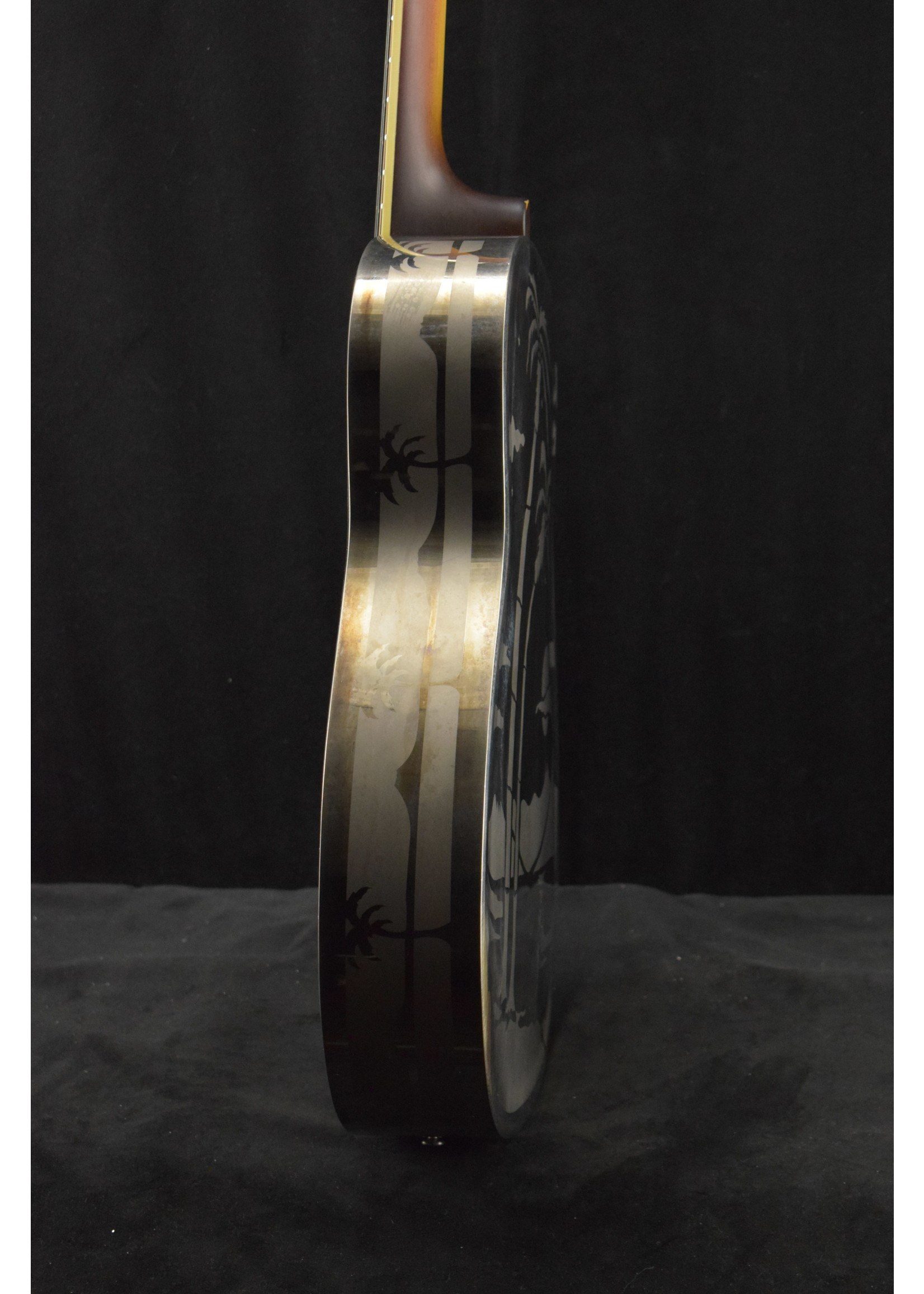 National National Style O 14-Fret Brass Body Replicon