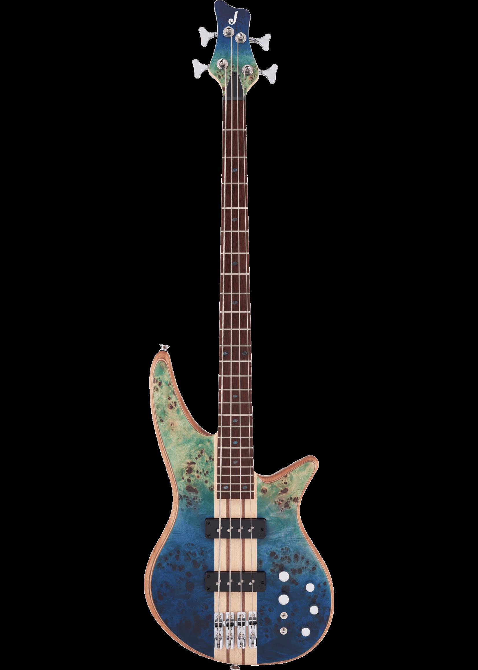 Jackson Jackson Pro Series Spectra Bass SBP IV Caribbean Blue