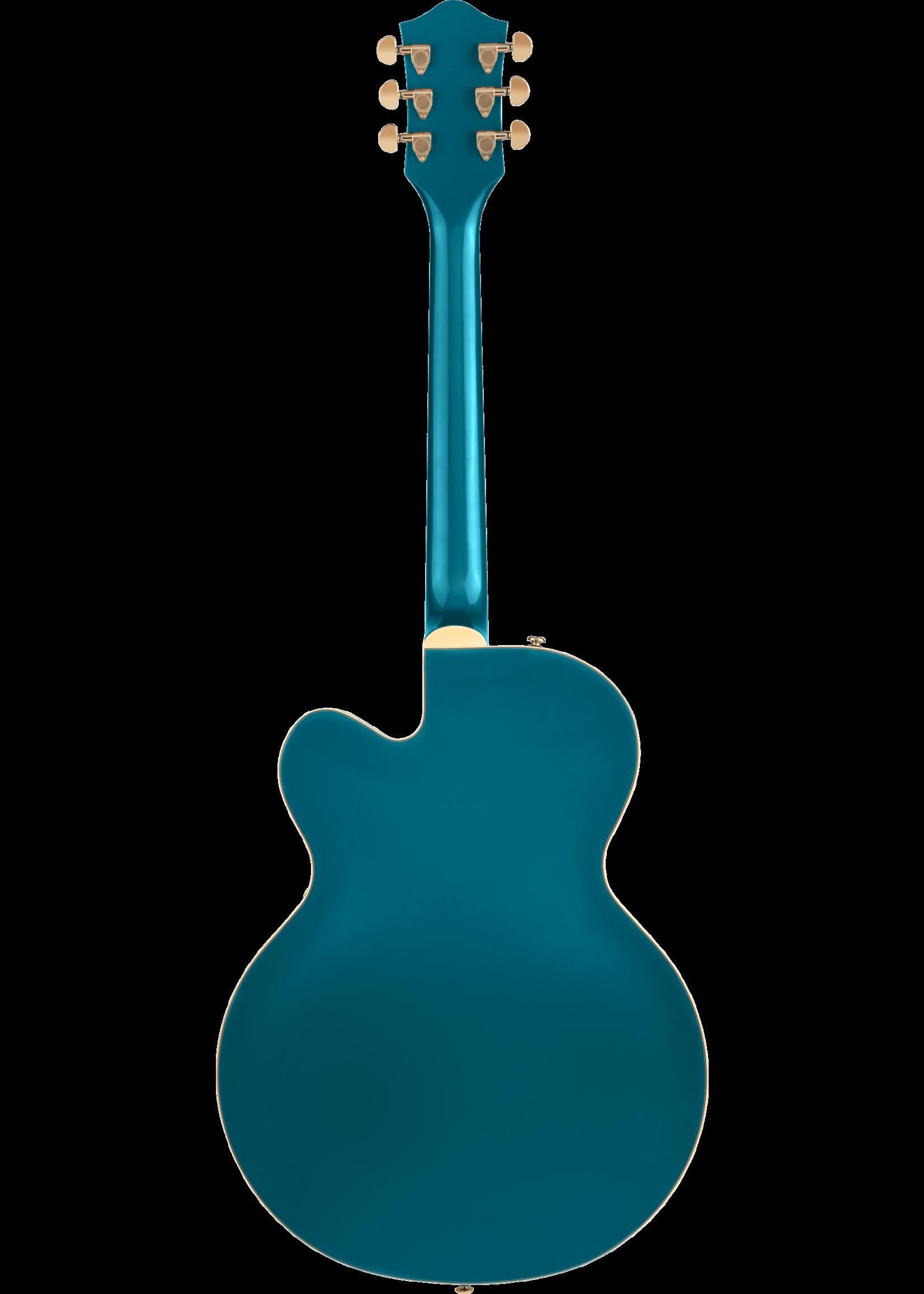 Gretsch Gretsch G2410TG Streamliner Hollow Body Single Cutaway with Bigsby Ocean Turquoise