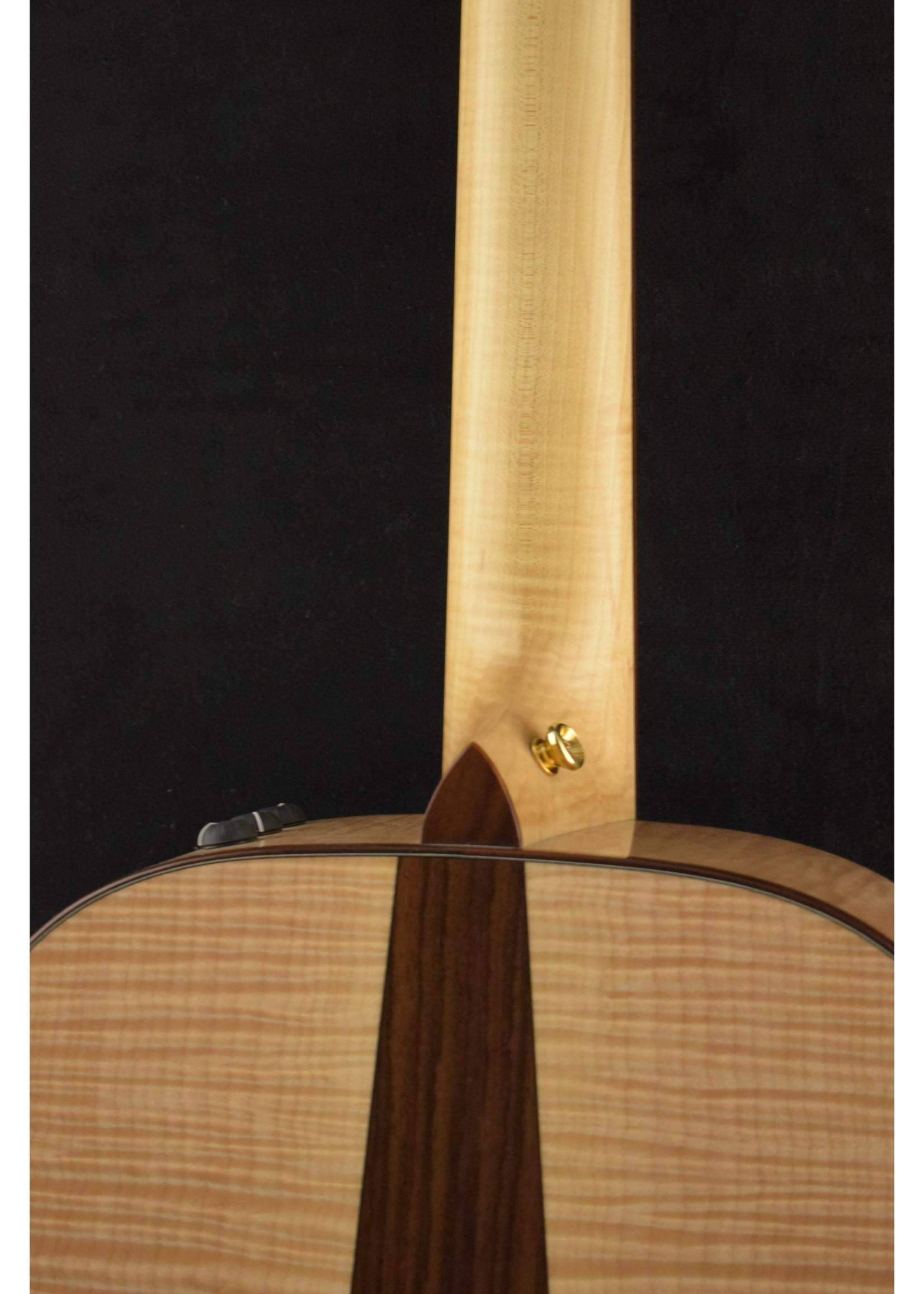 Taylor Taylor BTO# 6911 Left Handed Flame Maple/Cedar w/Full Factory Warranty