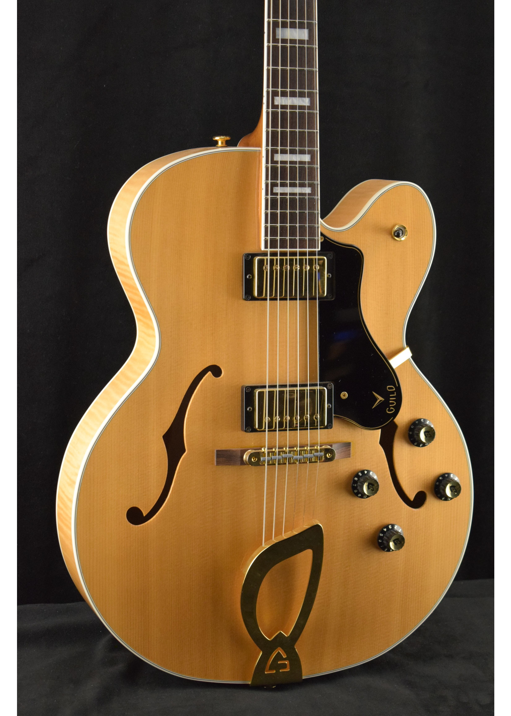Guild Guild GSR X-180 Blonde Archtop Electric Guitar (#13 of 20)