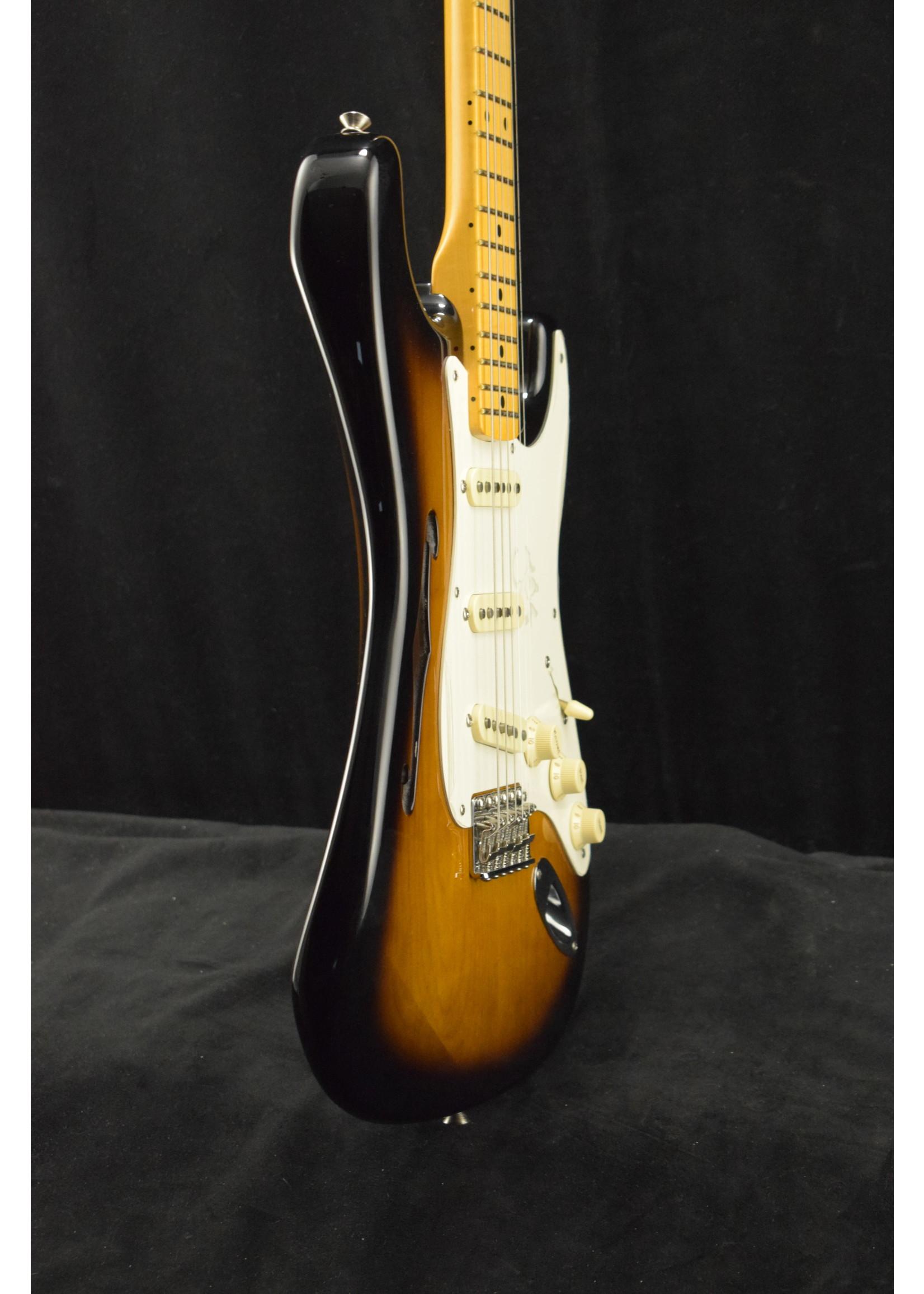 Fender Fender Eric Johnson Signature Stratocaster Thinline MN Maple Neck Sunburst SCRATCH & DENT