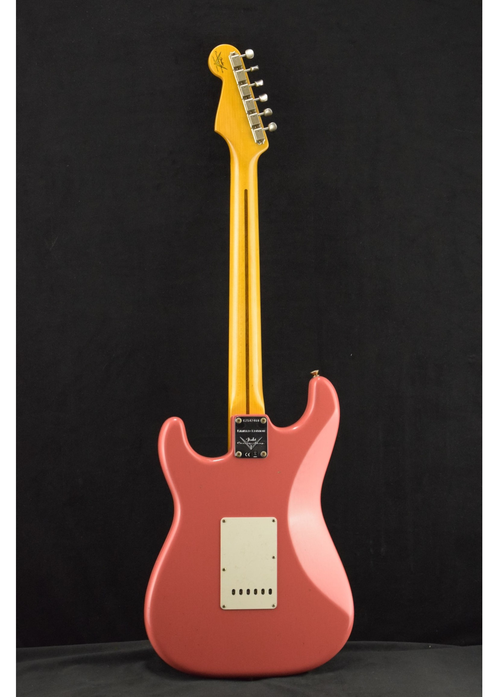 Fender Fender Custom Limited '50s Stratocaster Journeyman Relic Super Faded Aged Fiesta Red