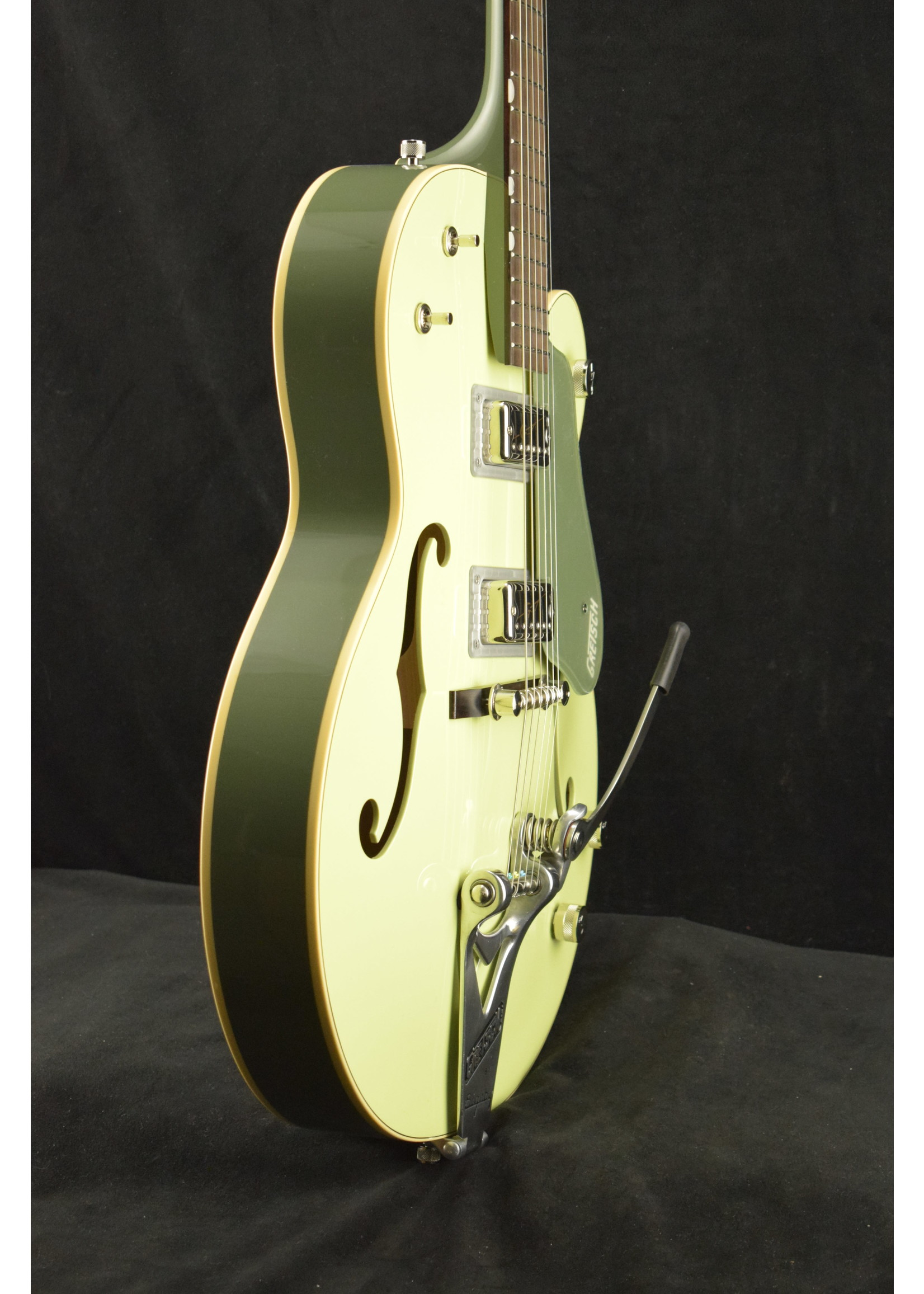Gretsch Gretsch G6118T-60 Vintage Select '60 Anniversary with Bigsby 2-Tone Smoke Green