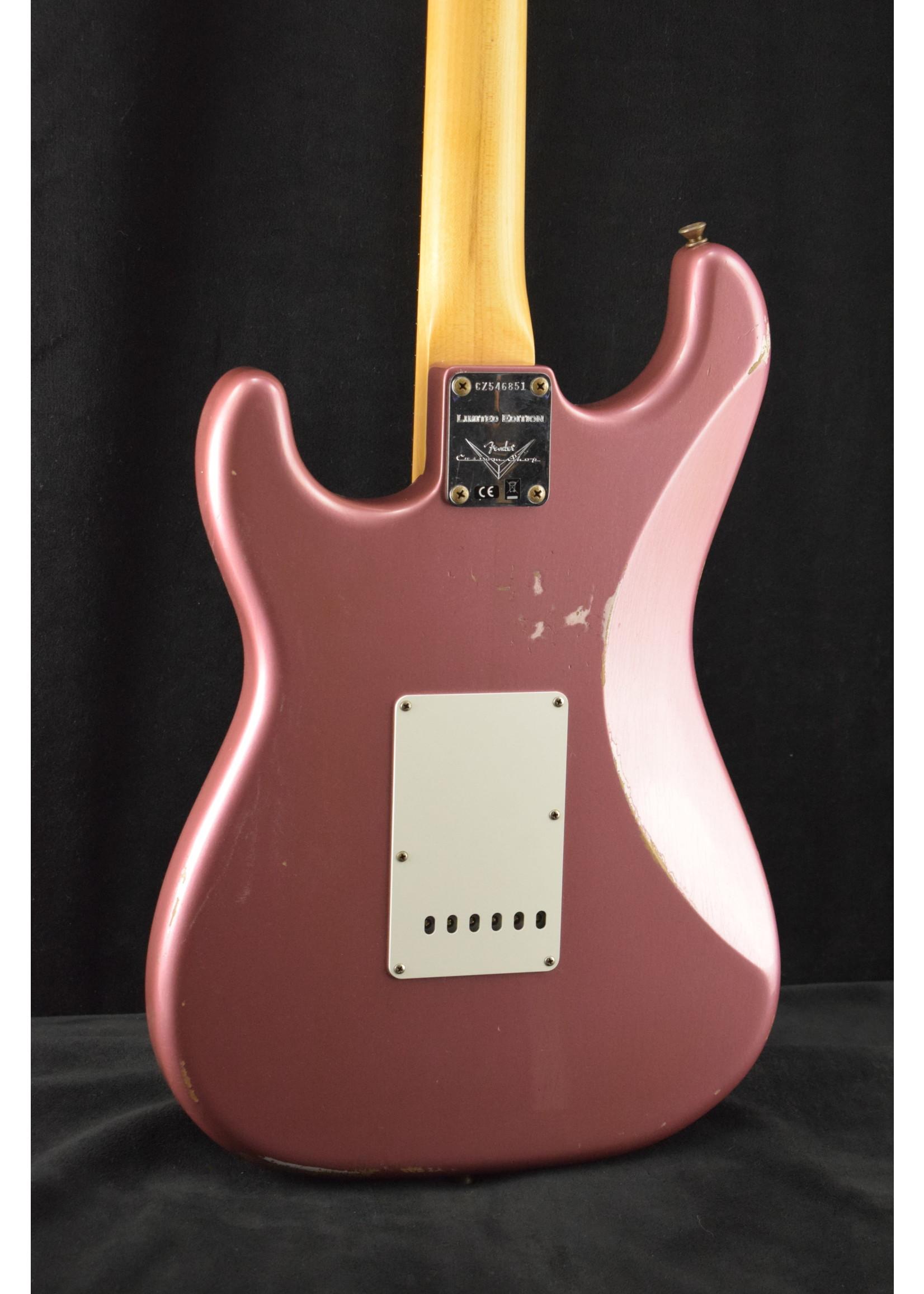 Fender Fender 1960 Stratocaster Relic Aged Burgundy Mist Metallic