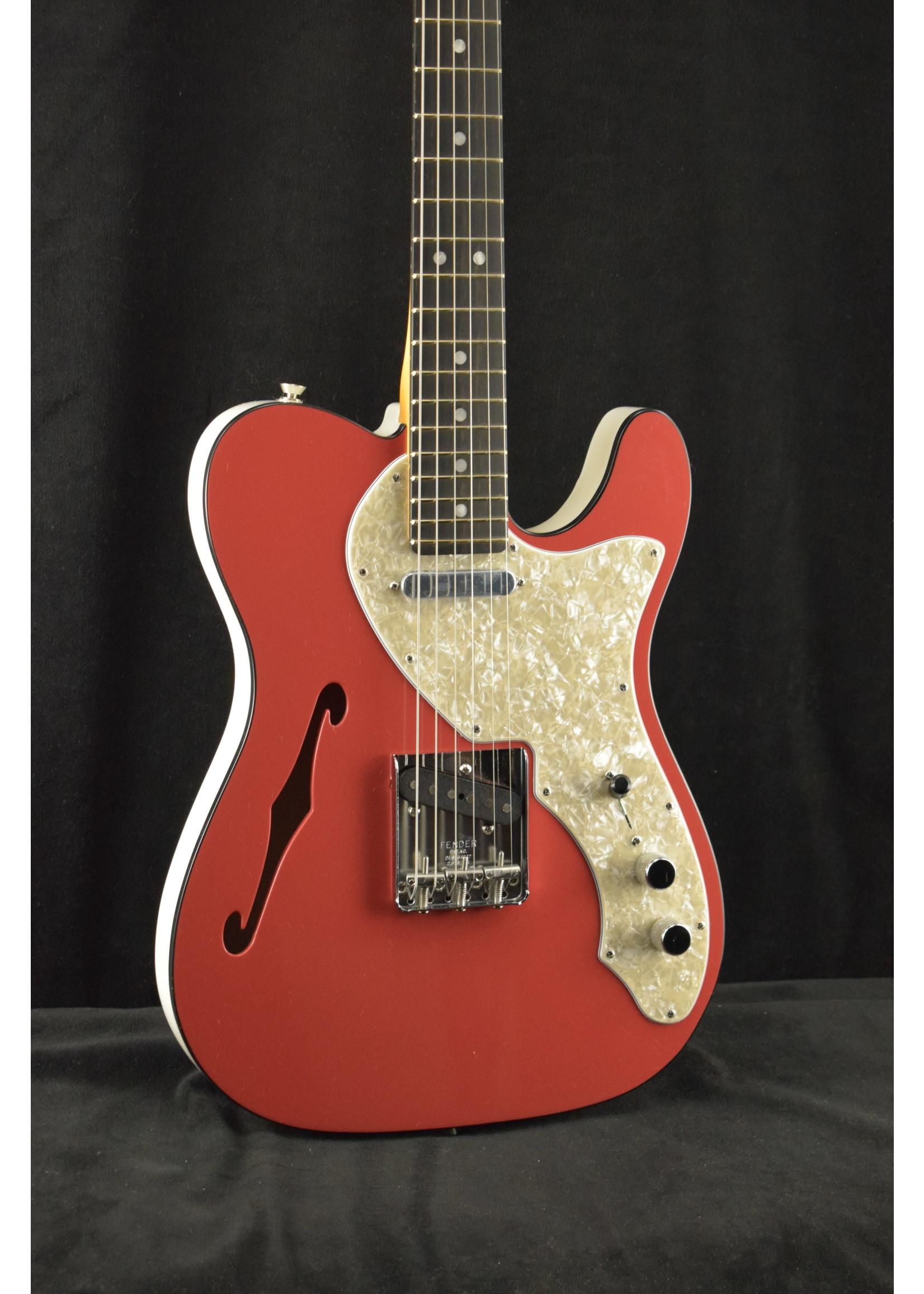 Fender Fender 2-Tone Telecaster Thinline EBY Fiesta Red
