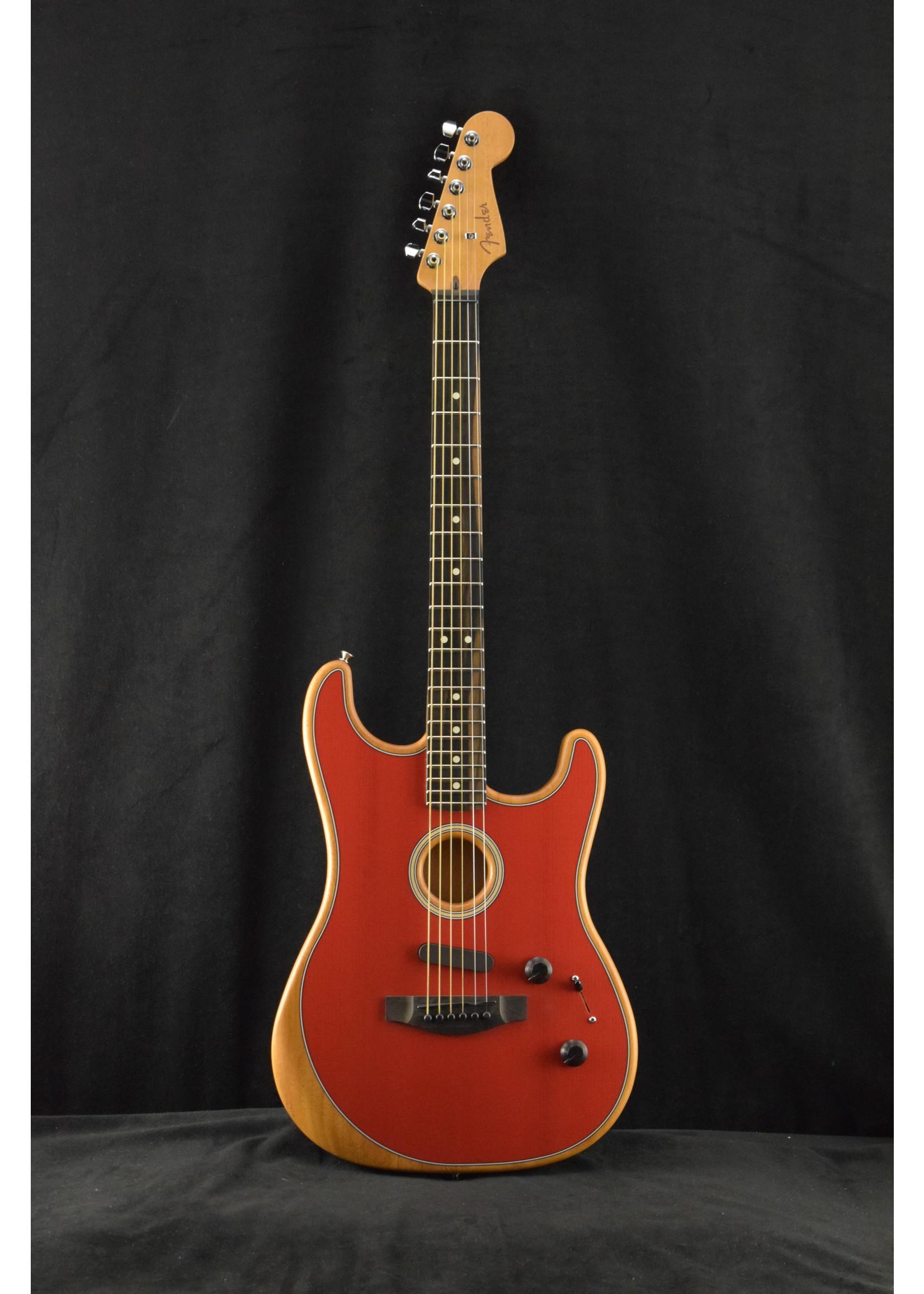 Fender Fender American Acoustasonic Stratocaster Dakota Red