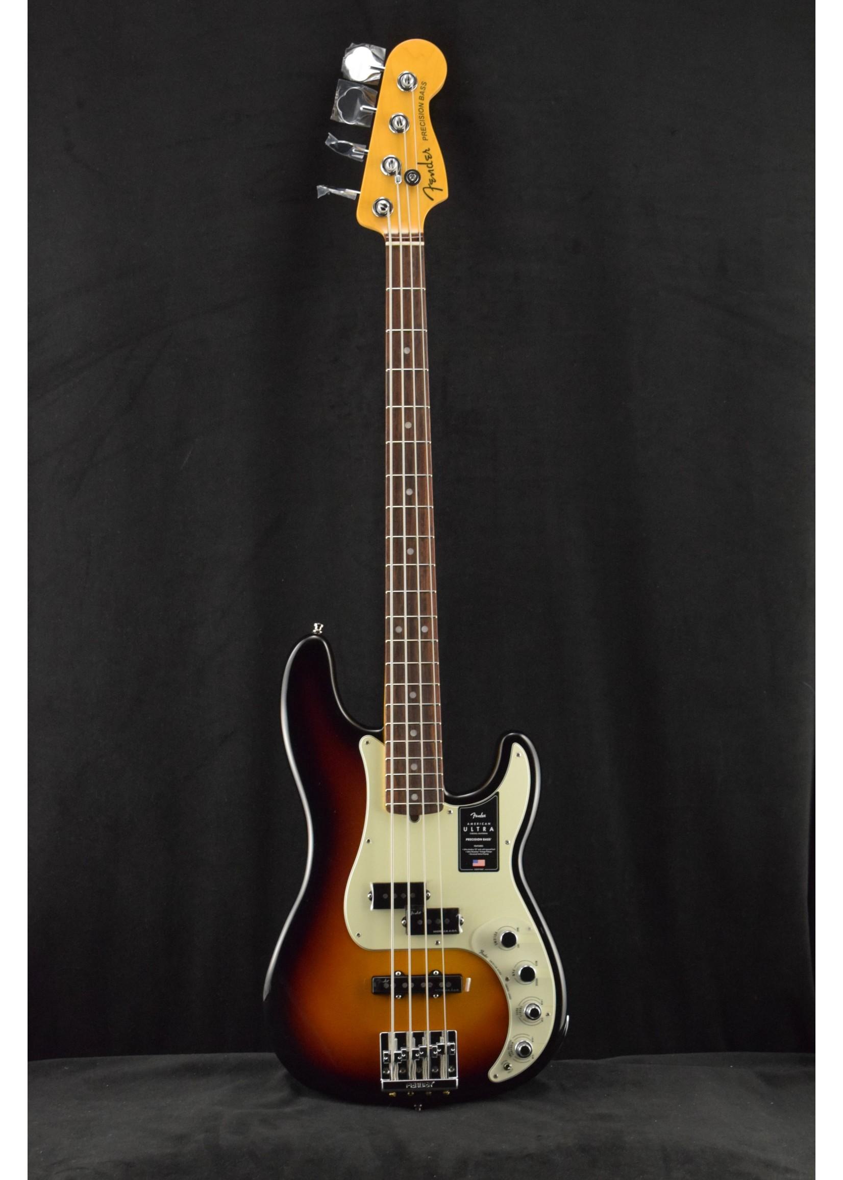 Fender Fender American Ultra Precision Bass RW Ultraburst