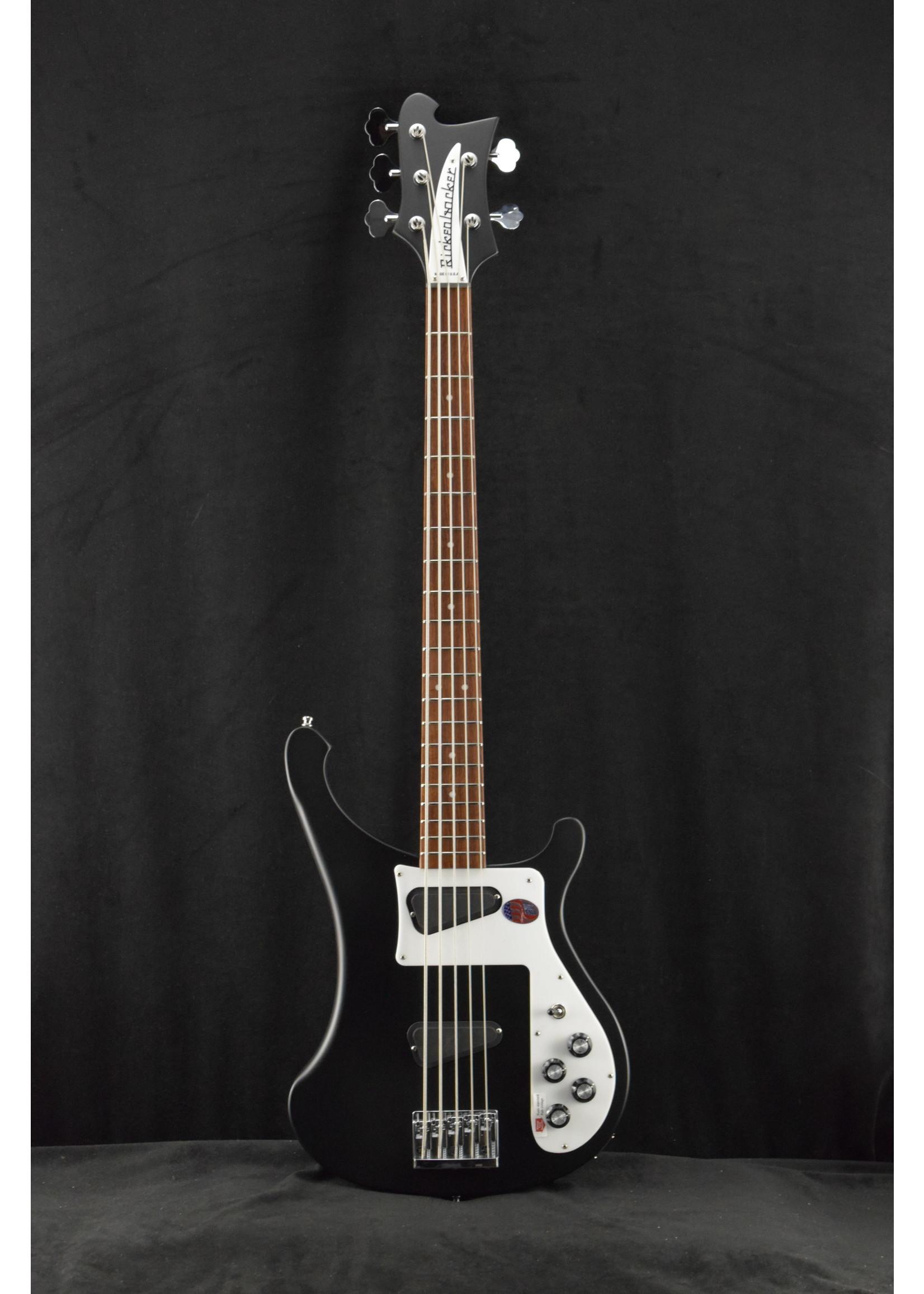 Rickenbacker Rickenbacker 4003S/5 5-String Bass Matte Black with Hardshell Case