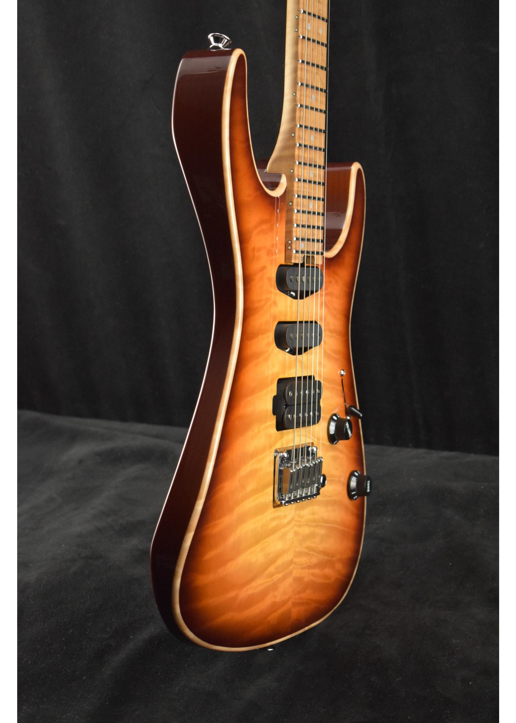 Charvel Charvel USA Select DK24 HSS 2PT CM QM Autumn Glow