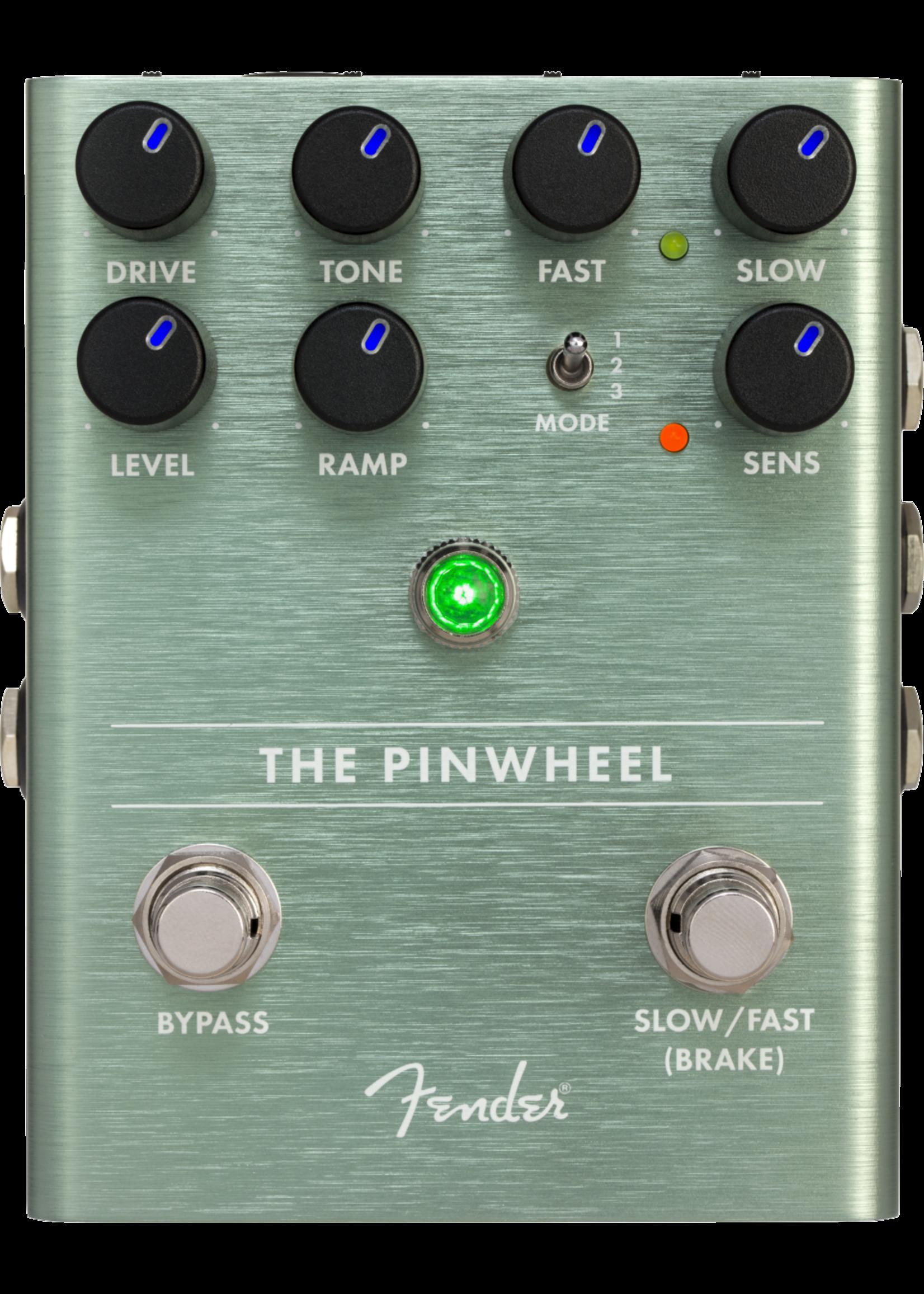 Fender Fender The Pinwheel Rotary Speaker Emulator Green