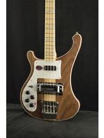 Rickenbacker Rickenbacker 4003W LH Left-Handed Walnut Bass Guitar Natural w/Vintage Silver Vinyl Hardshell Case