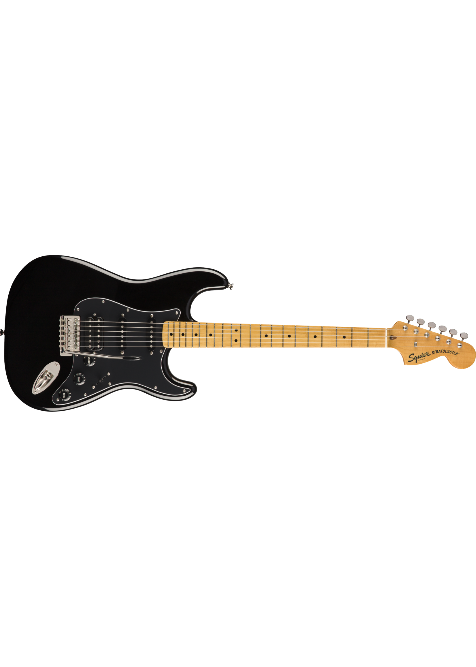 Squier Squier Classic Vibe '70s Stratocaster HSS MN Maple Neck Black