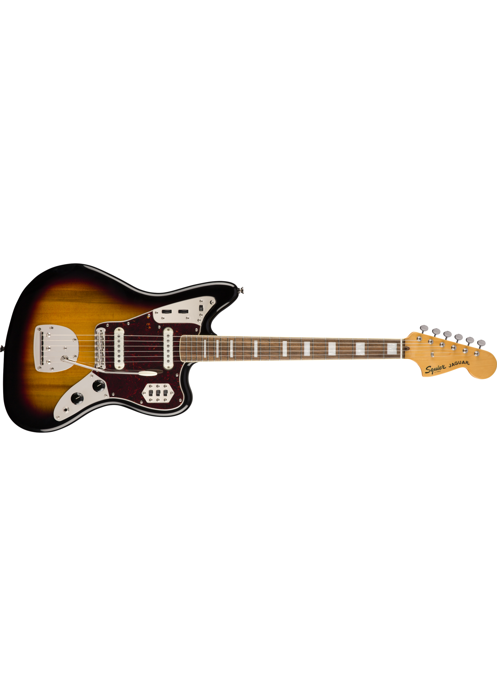 Squier Squier Classic Vibe '70s Jaguar LRL Laurel Fingerboard Sunburst