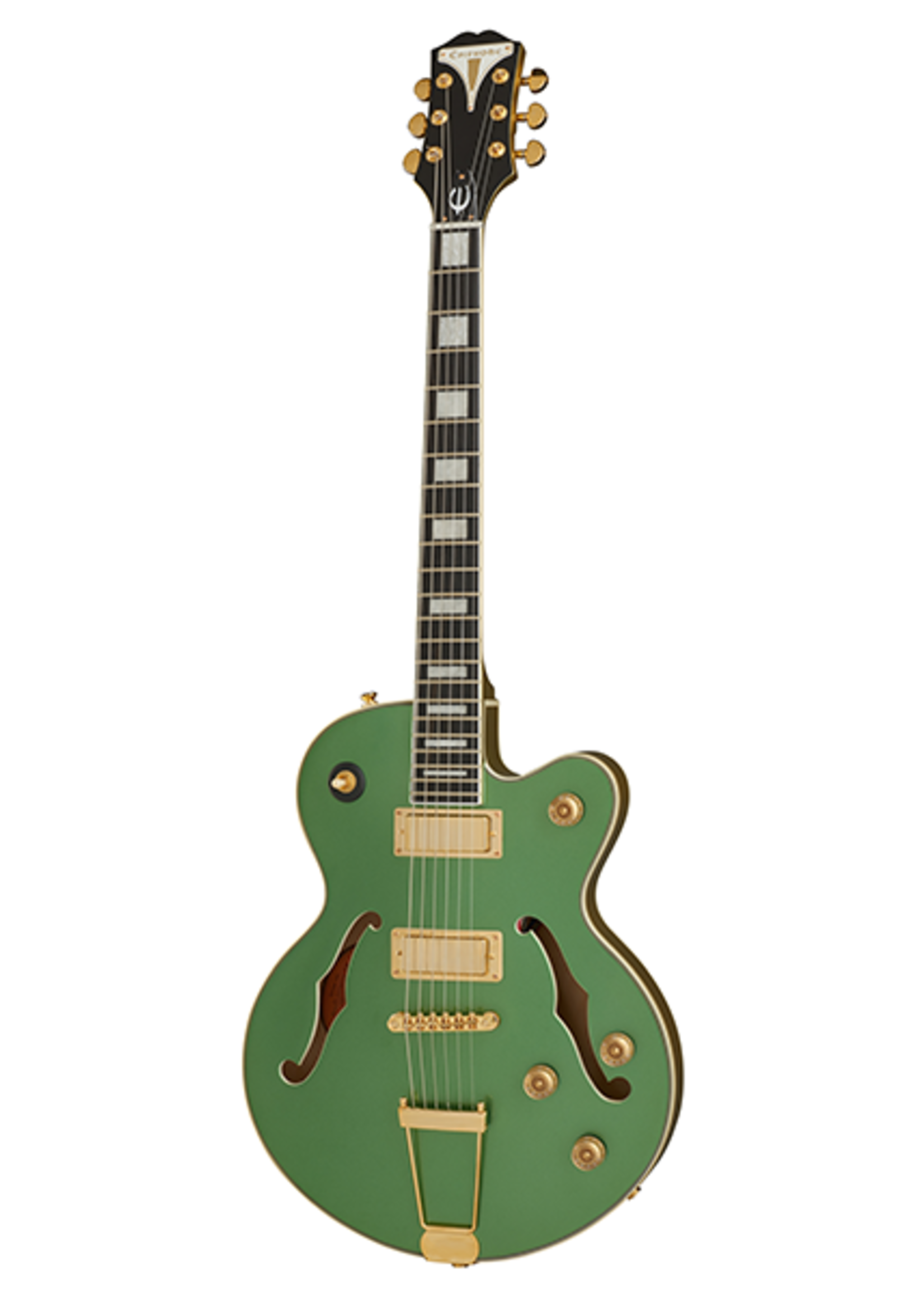 Epiphone Epiphone Uptown Kat ES Emerald Green Metallic