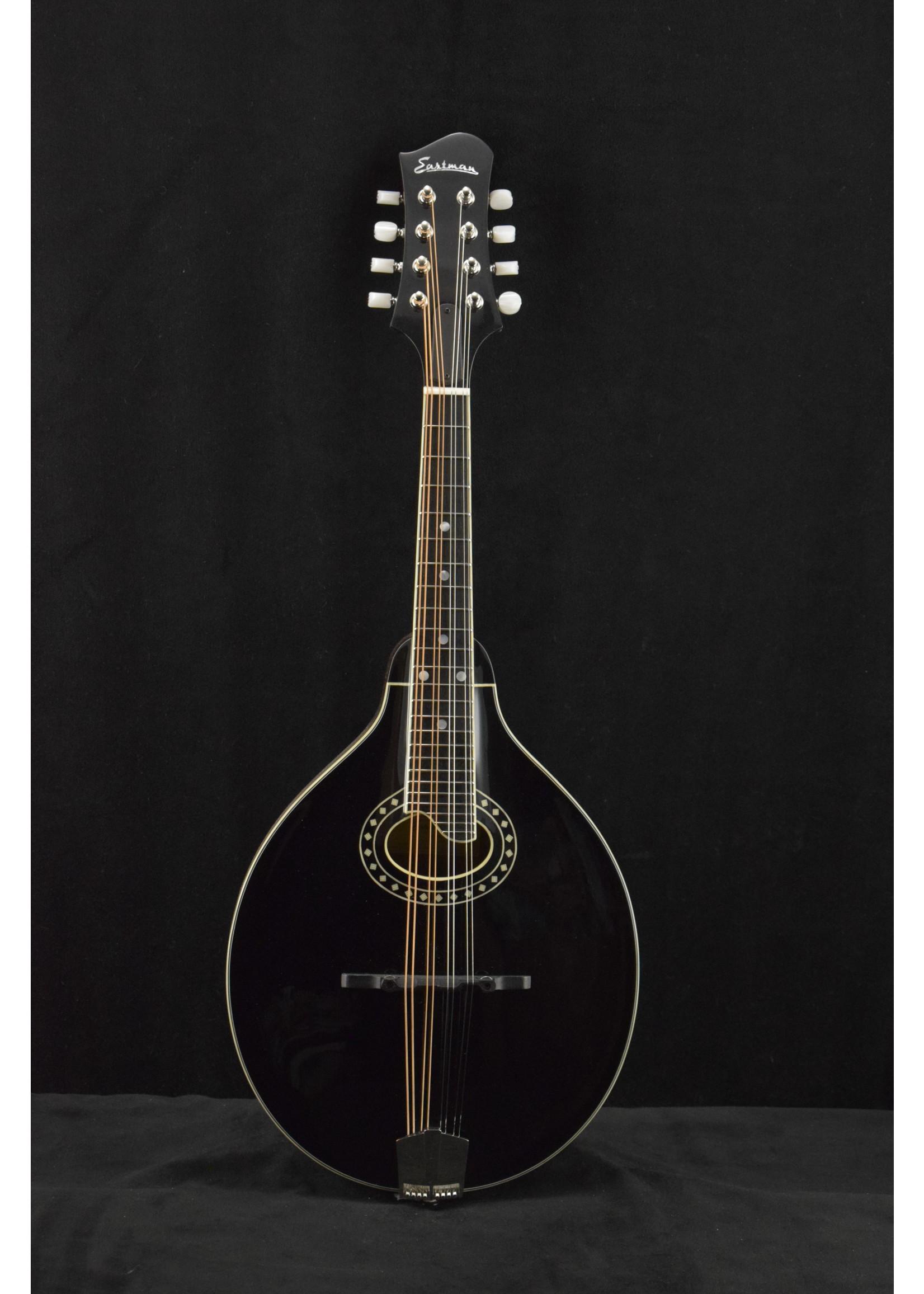 Eastman Eastman MD404-BK A-Style Oval-Hole Mandolin Black