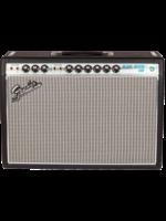 Fender Fender '68 Deluxe Reverb 120V 22-Watt Guitar Amplifier Combo Black/Silver and Blue