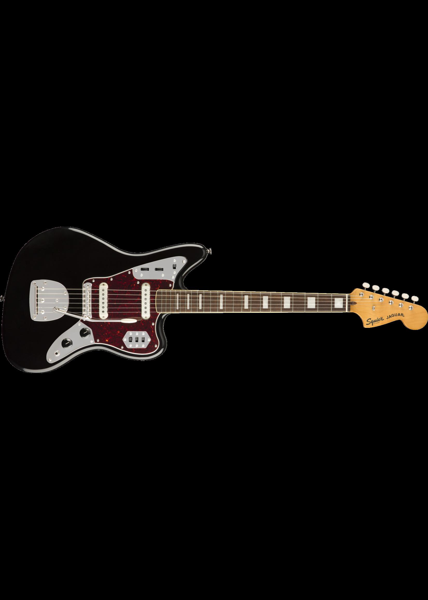 Squier Squier Classic Vibe '70s Jaguar LRL Laurel Fingerboard Black