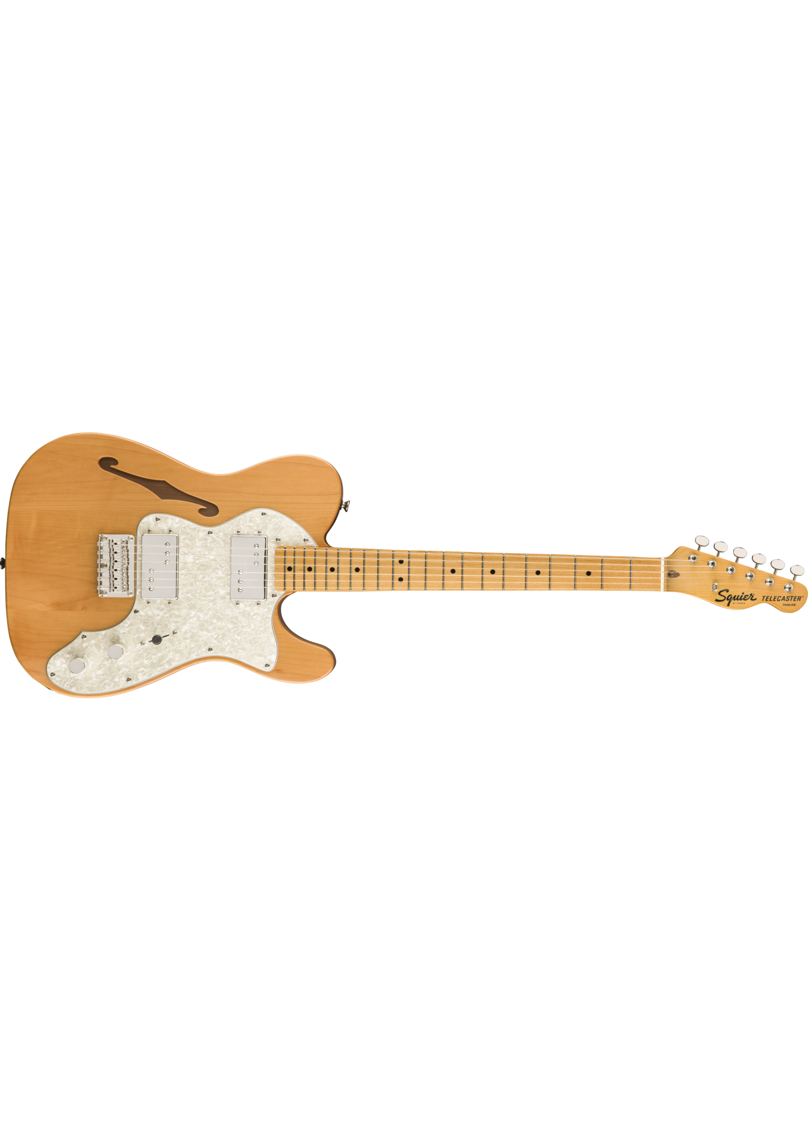 Squier Squier Classic Vibe '70s Telecaster Thinline MN Maple Neck Natural