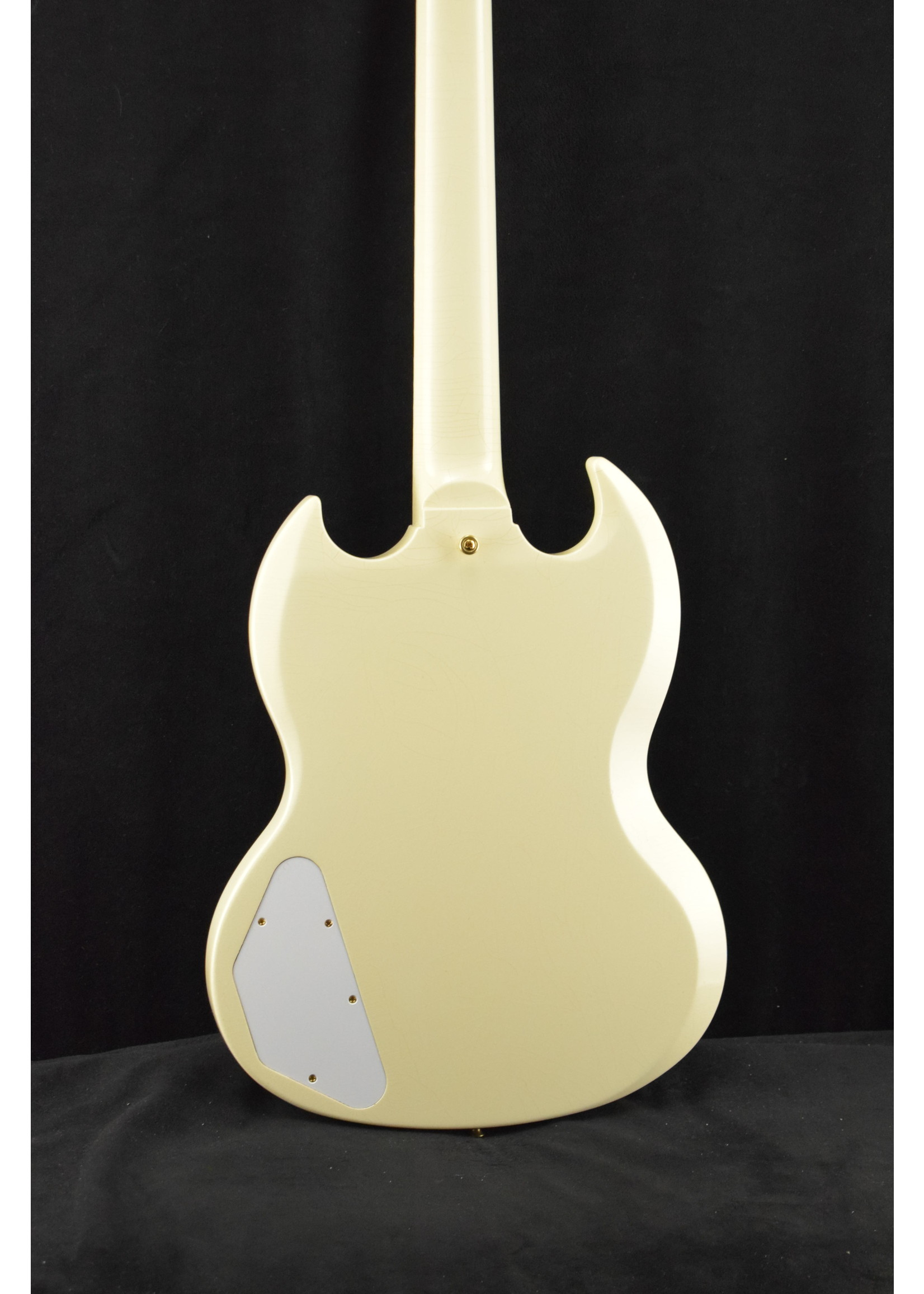 Gibson Gibson Murphy Lab 1963 Les Paul SG Custom With Maestro Vibrola Classic White Ultra Light Aged
