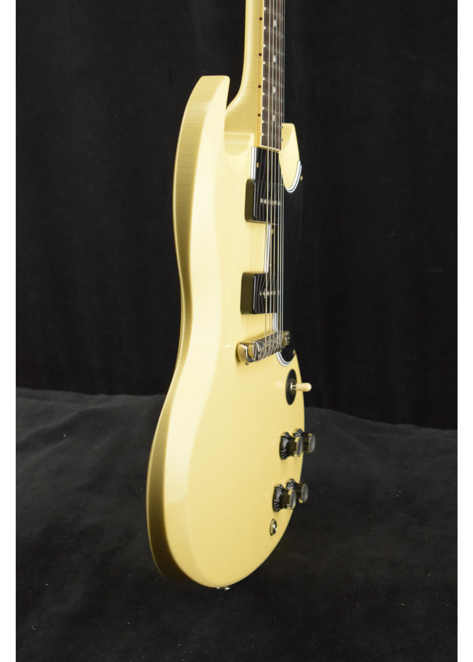 Gibson Gibson Murphy Lab 1963 SG Special Lightning Bar Classic White Ultra Light Aged