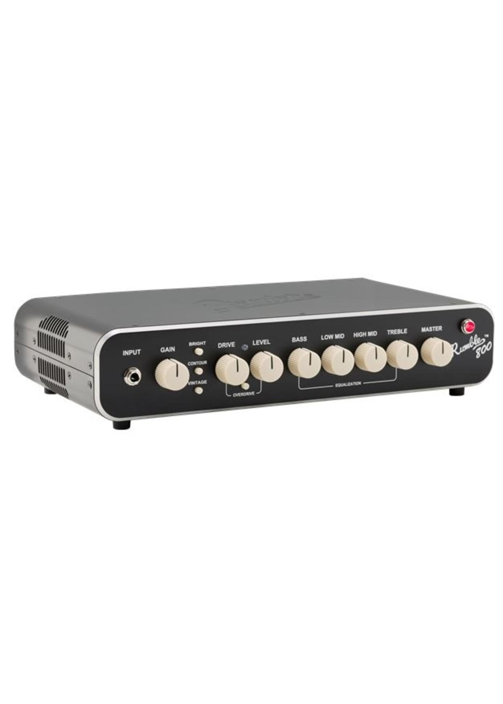 Fender Fender Rumble 800 HD Bass Amp Head Black